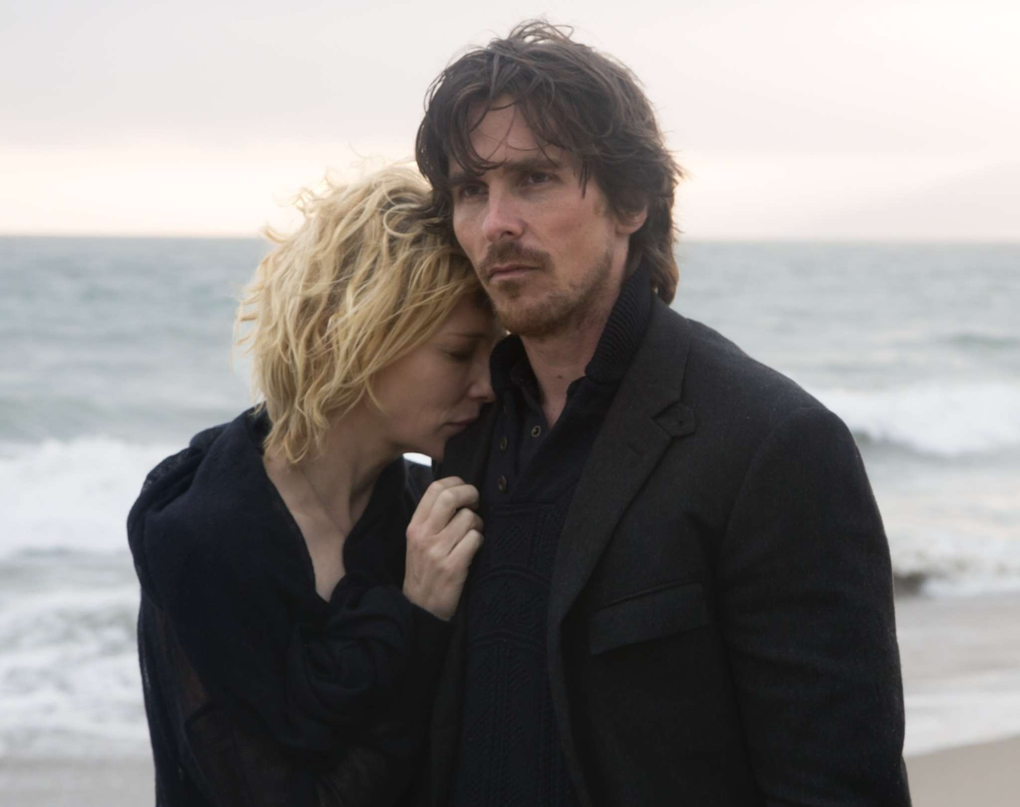 "Did you say something?: Cate Blanchett and Christian Bale in Terrence Malick´s ""Knight of Cups."""
