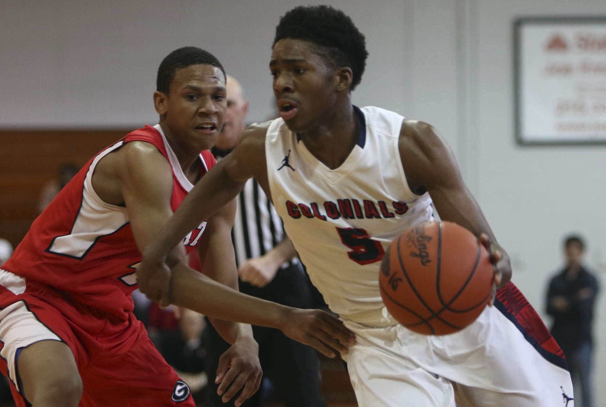 Plymouth Whitemarsh´s Xzavier Malone averages 19.9 points to lead the Colonials.