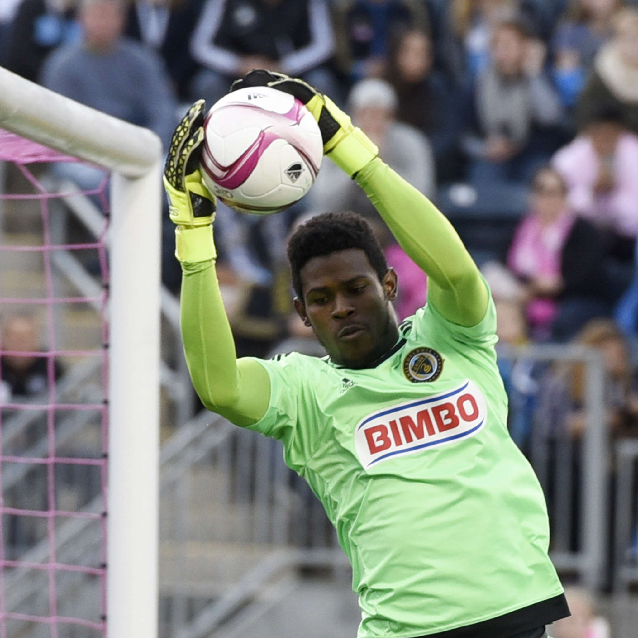 Union goalie Andre Blake has been called up to the Jamaican national team. Associated Press