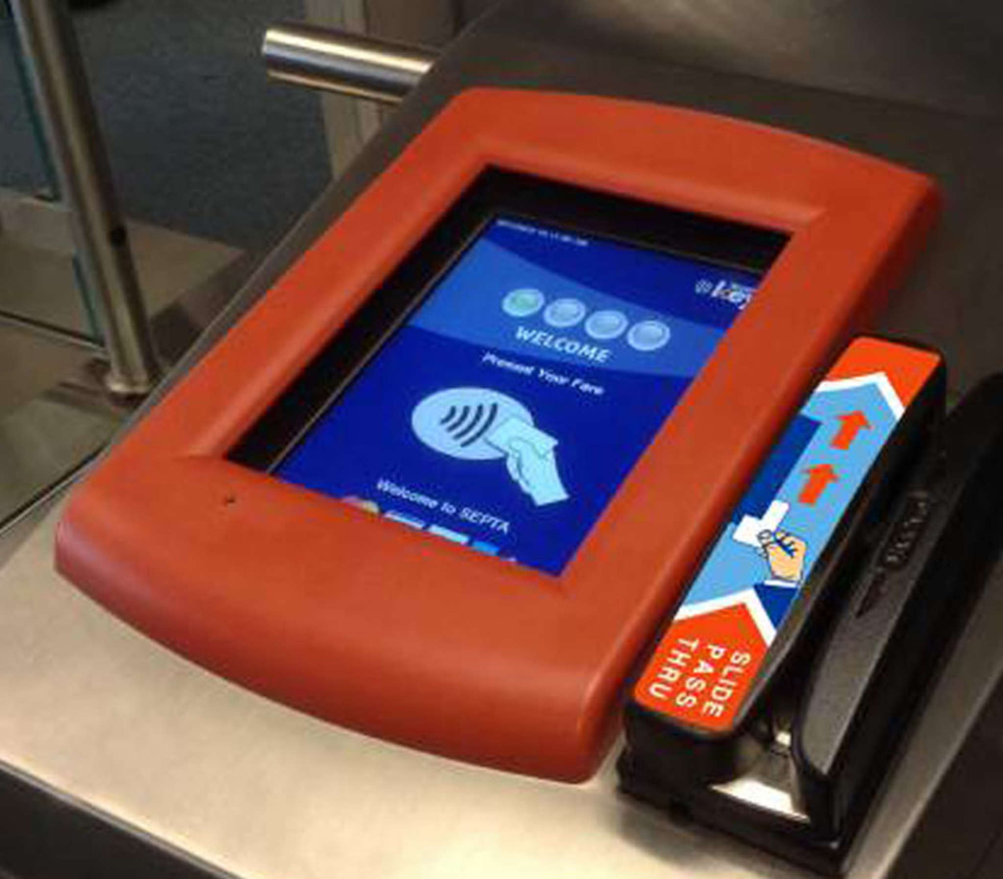 When fully installed - and we´re not sure when that will be - the SEPTA Key reader should be the eventual replacement for those blasted tokens.