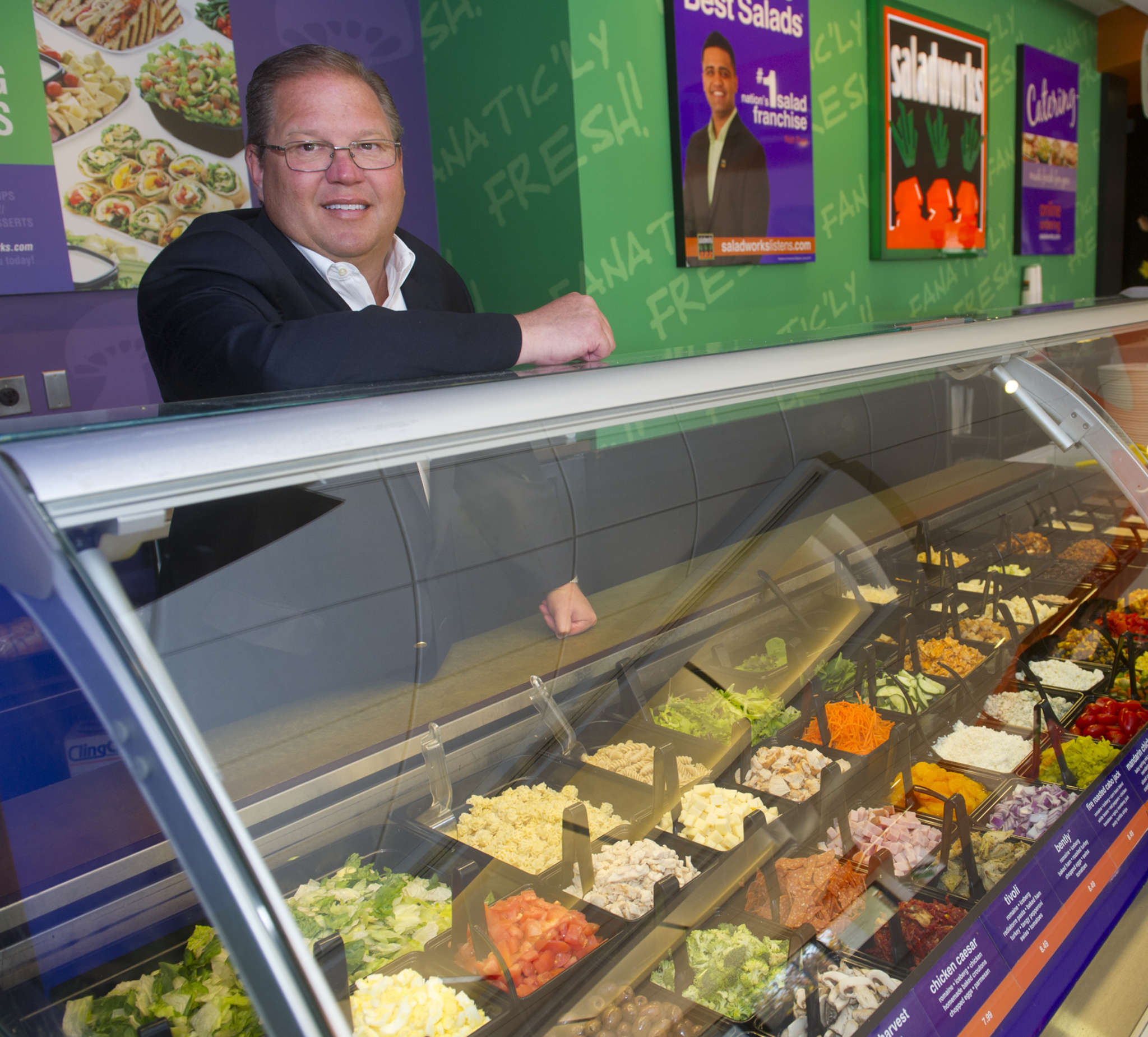 "Paul Steck, former Saladworks CEO, helmed the franchise since 2002 and unveiled a new store model in 2015. Patrick Sugrue will be promoting the ""refreshed"" model."