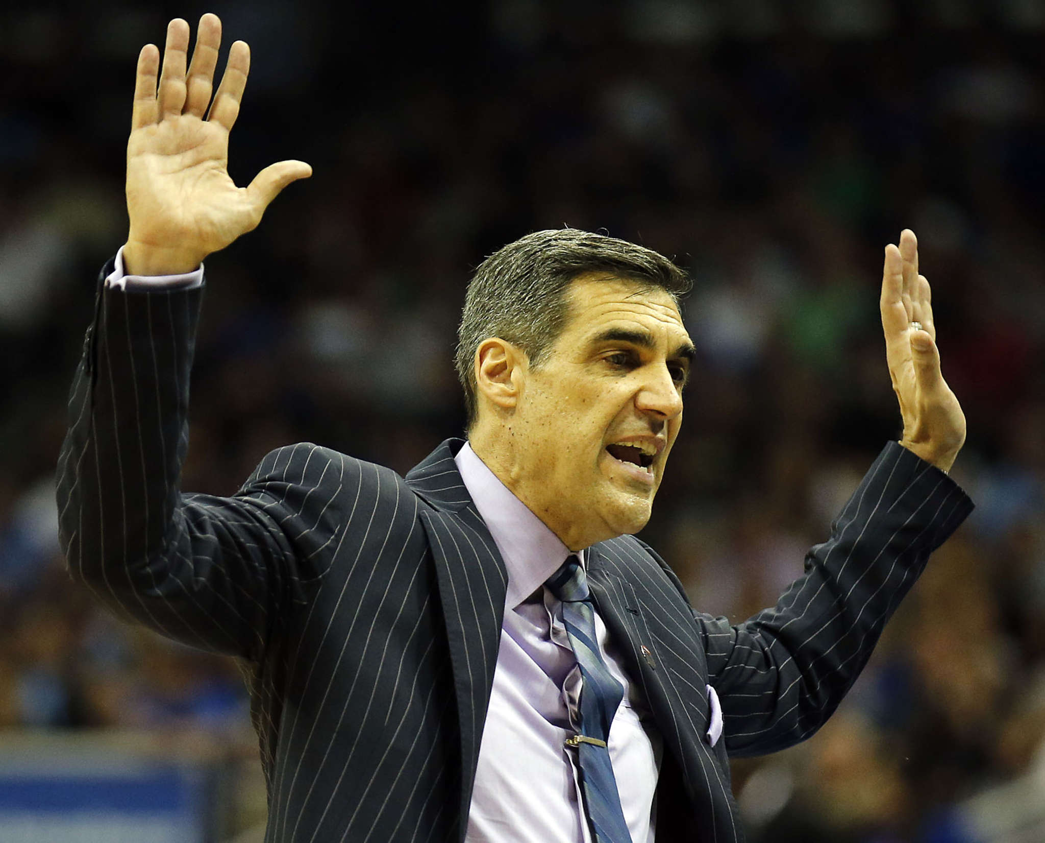 Villanova coach Jay Wright says any of the teams in the Final Four ´could win this thing.´ YONG KIM / Staff Photographer