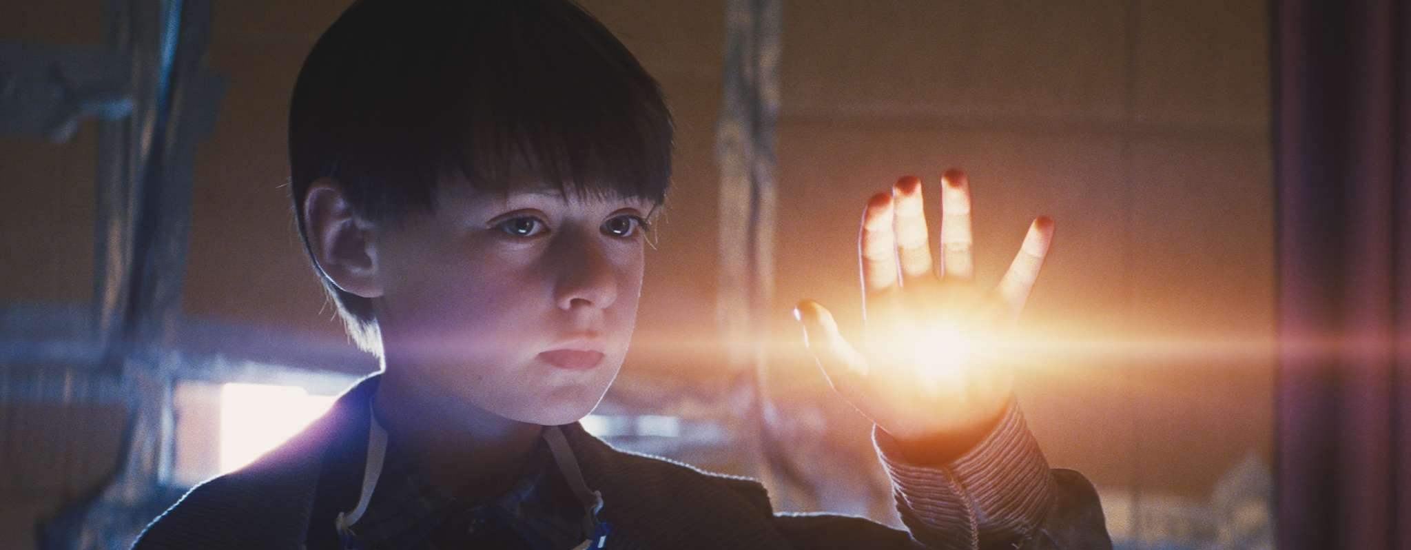 "Jaeden Lieberher as 8-year-old Alton Meyer projects only some of the otherworldly weirdness in Jeff Nichols´ ""Midnight Special."""
