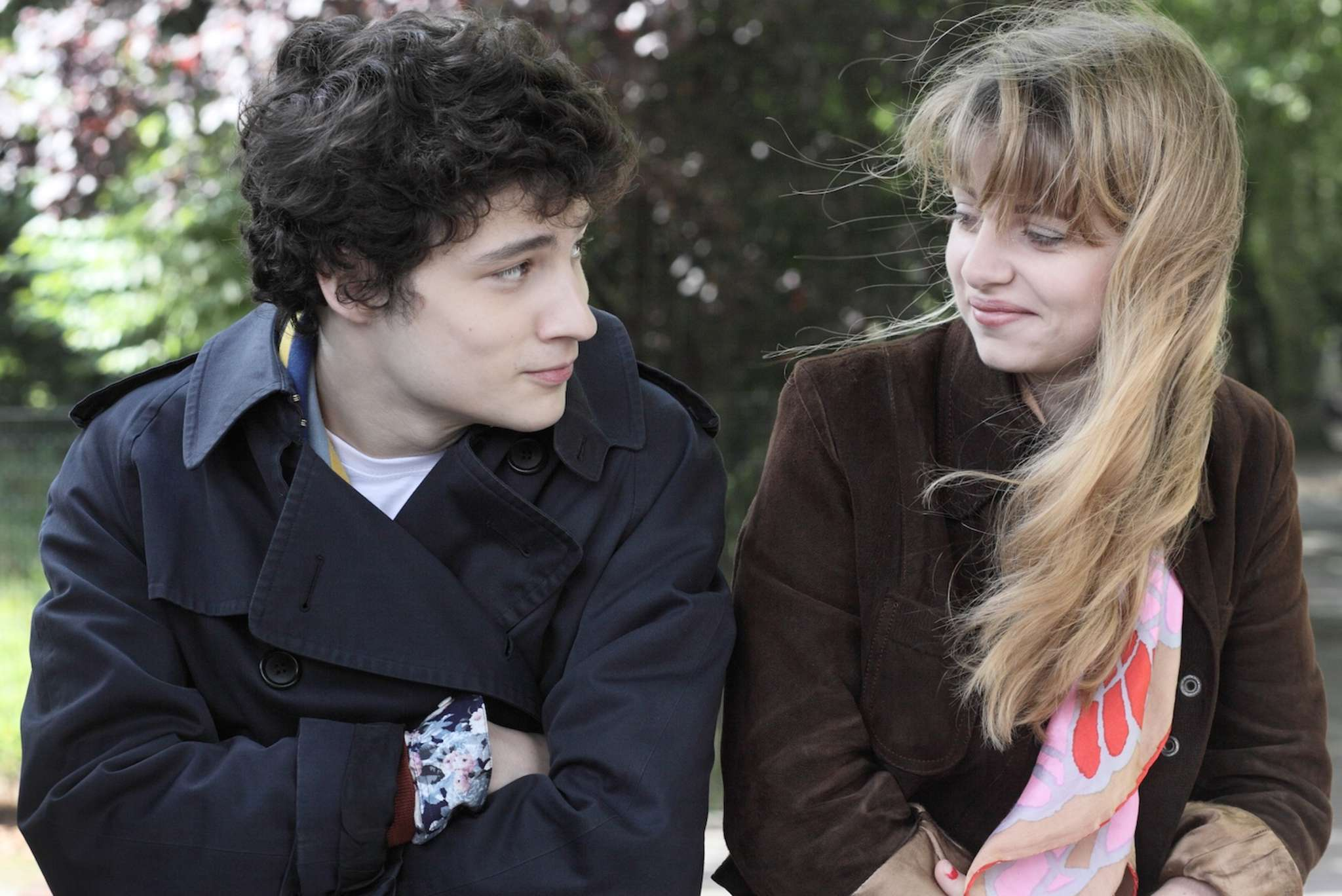 "Quentin Dolmaire and Lou Roy-Lecollinet fill the longest, richest, lovliest chapter in Arnaud Desplechin´s ""My Golden Days."""