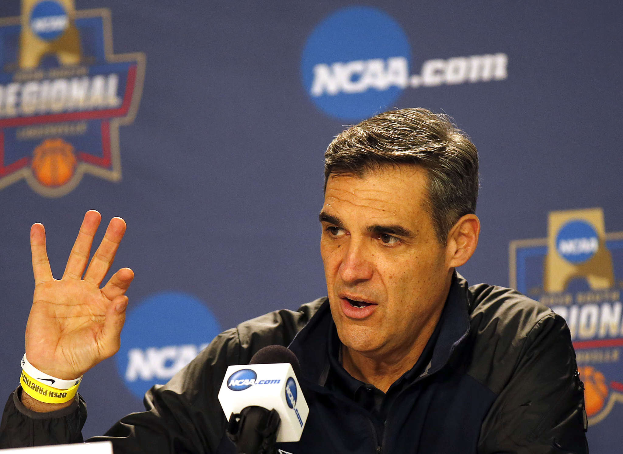 Jay Wright: A coach with class.