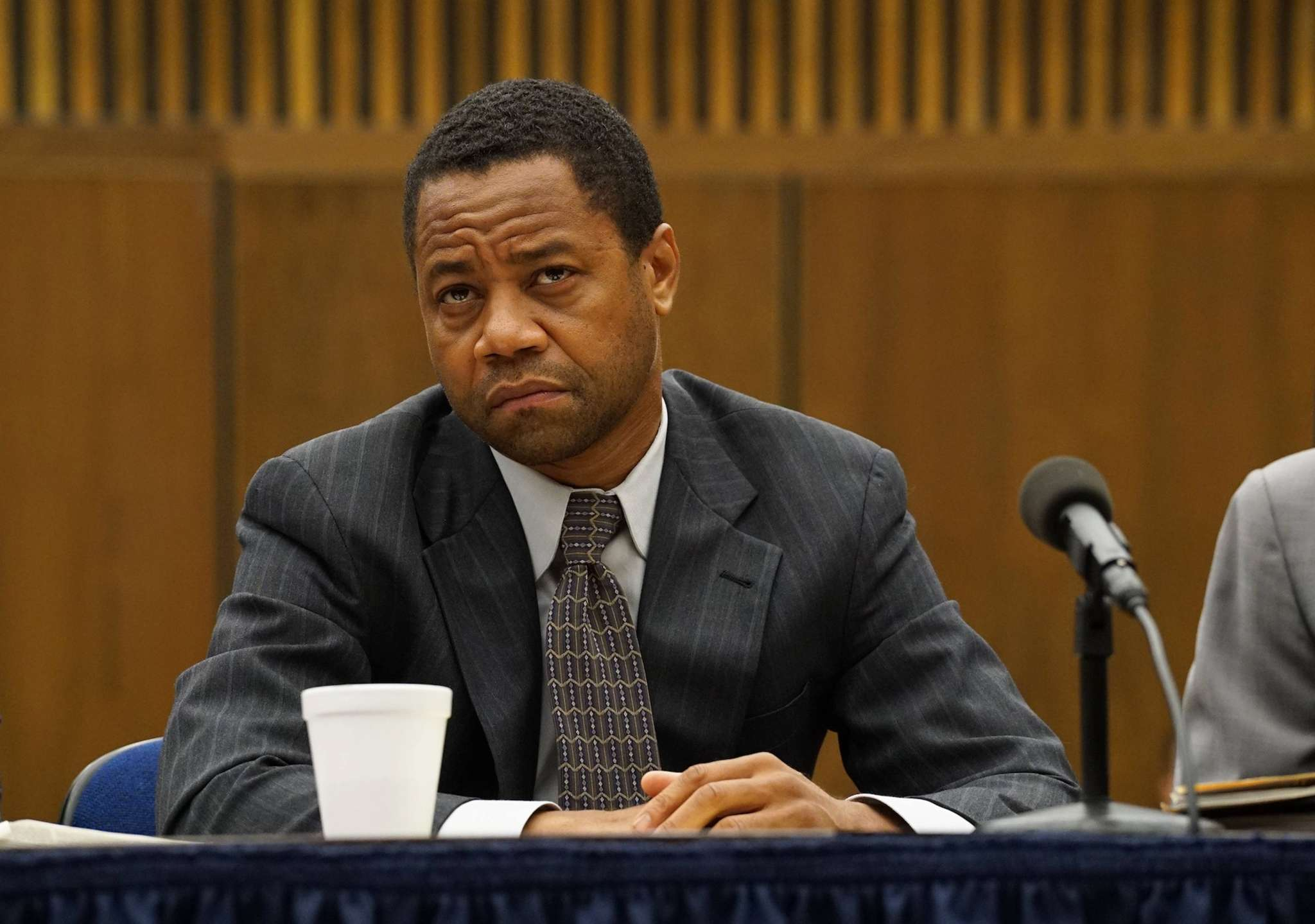 """""""The People v. O.J. Simpson,"""" with Cuba Gooding Jr. as the defendant, ends Tuesday. The FX show put the case in perspective, showing how much jurors matter."""