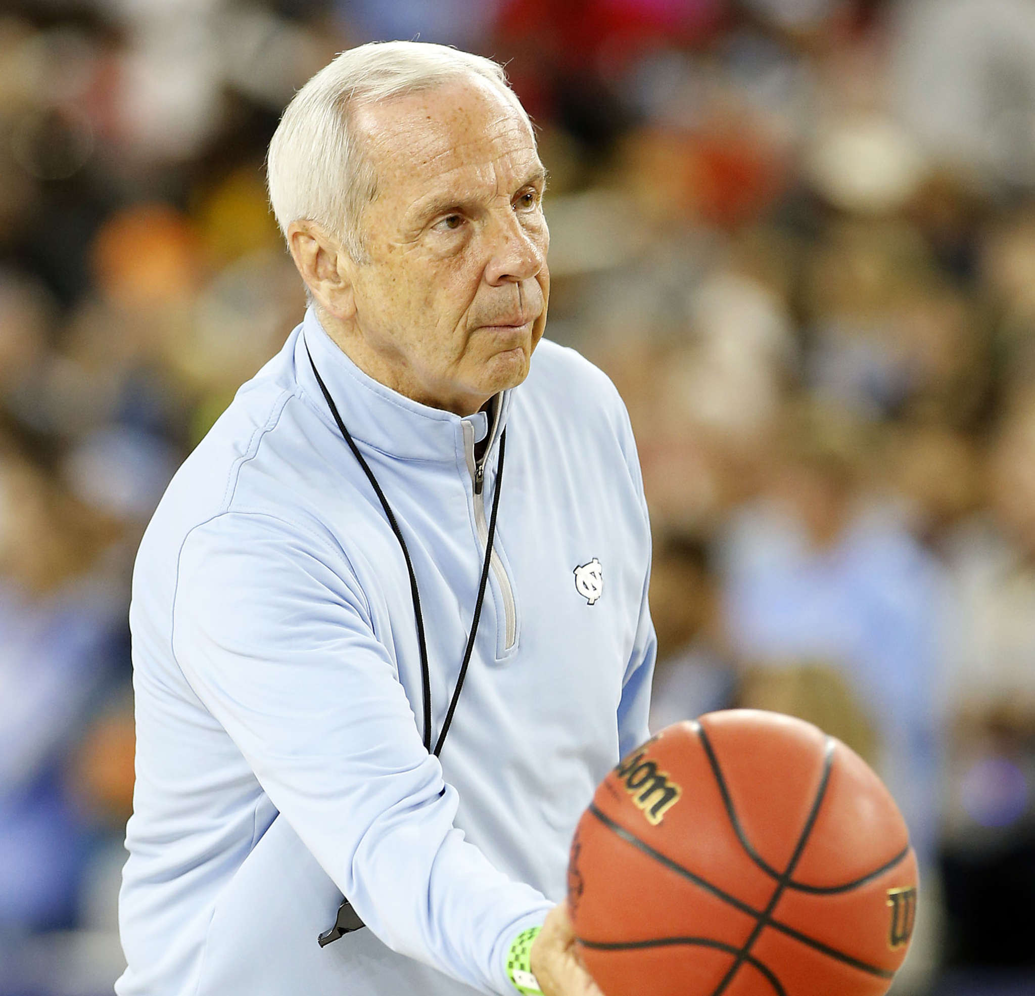 North Carolina coach Roy Williams leads the Tar Heels into the Final Four while UNC is under investigation for academic fraud.
