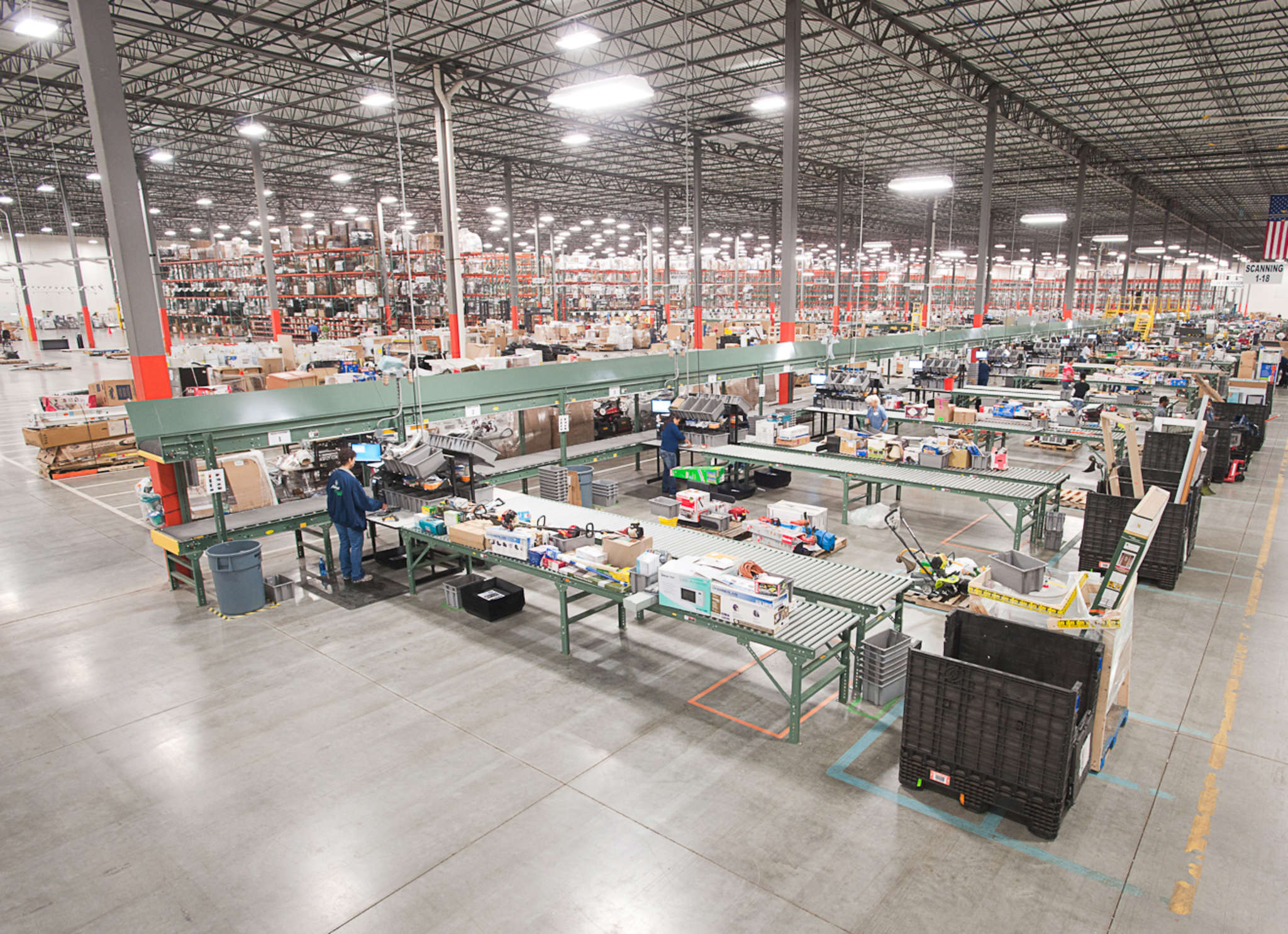 """""""Reverse logistics"""" facilities such as those owned by process items ordered online and returned by customers. GENCO"""
