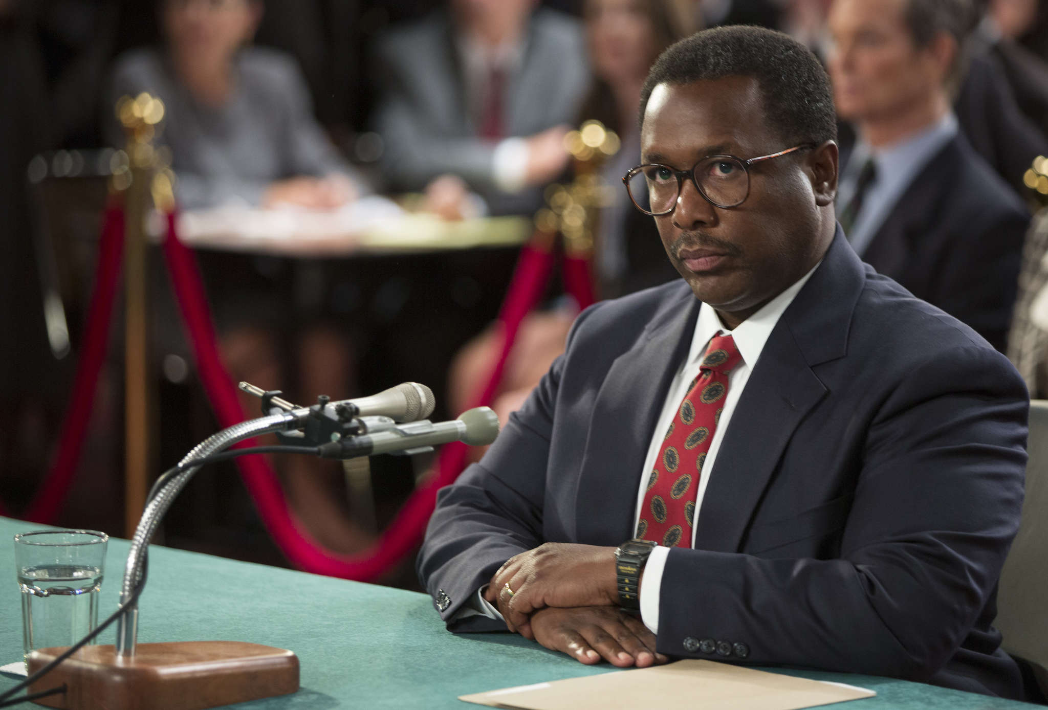"Wendell Pierce stars in HBO´s ""Confirmation"" as U.S. Supreme Court nominee Judge Clarence Thomas, who was accused during Senate hearings of having sexually harassed former colleague Anita Hill."