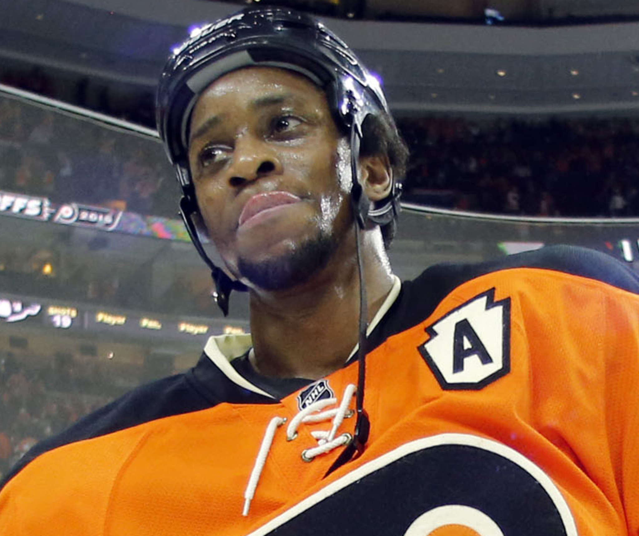 Wayne Simmonds scored 13 power-play goals, sixth in the NHL. YONG KIM / Staff Photographer