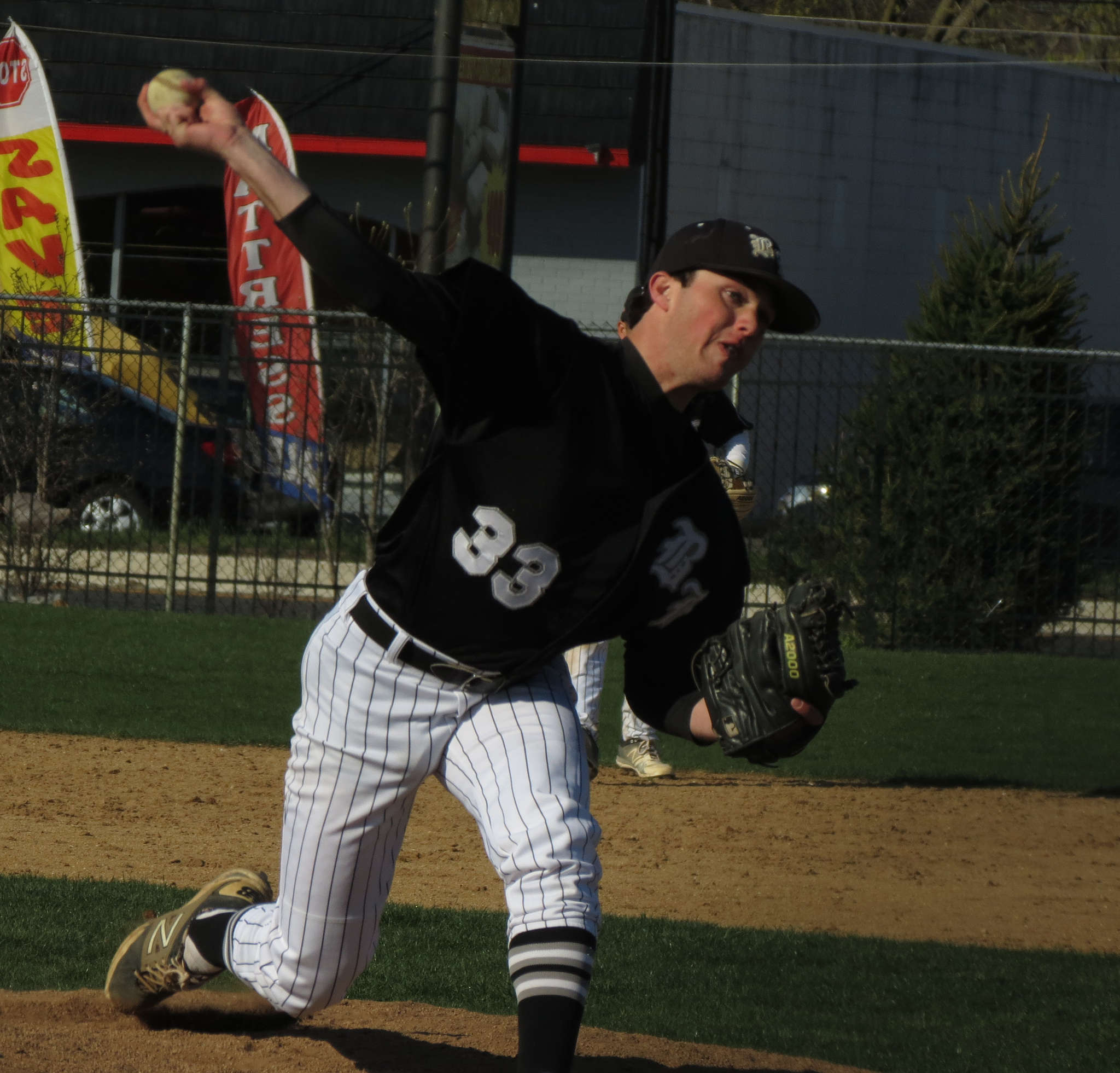 Bishop Eustace junior Brian Bernetich is 2-0 with a 3.60 ERA and one save in three appearances.