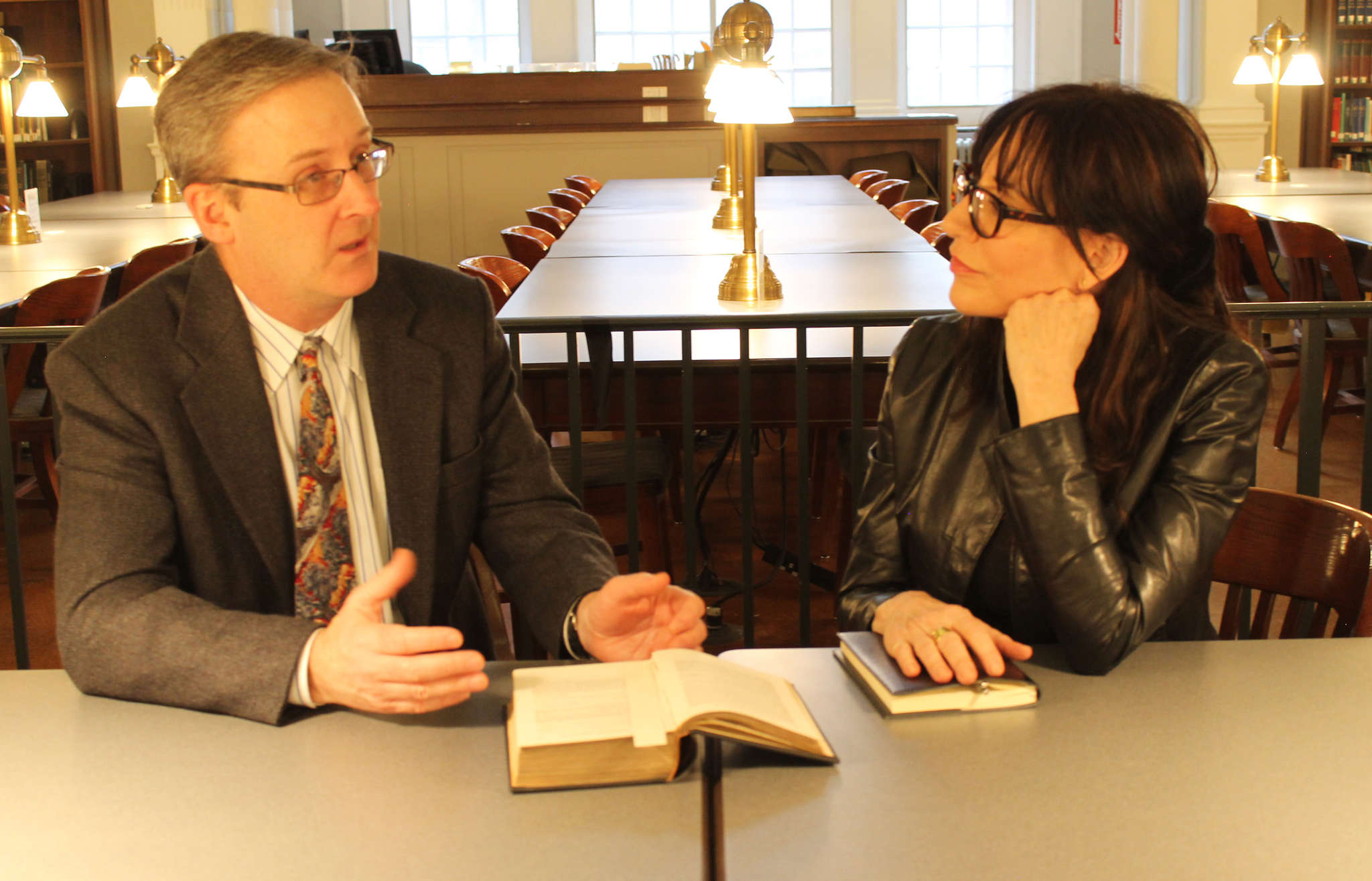 Katey Sagal, with Timothy Shannon.