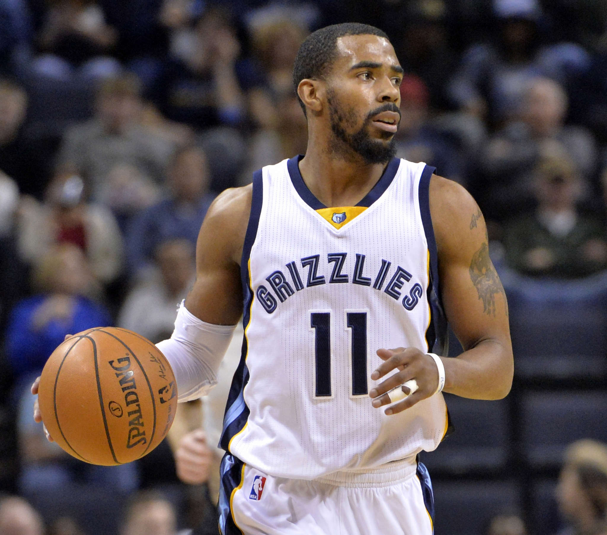 Mike Conley would be a good free-agent target for the Sixers if they want to shore up the point guard positon. Associated Press