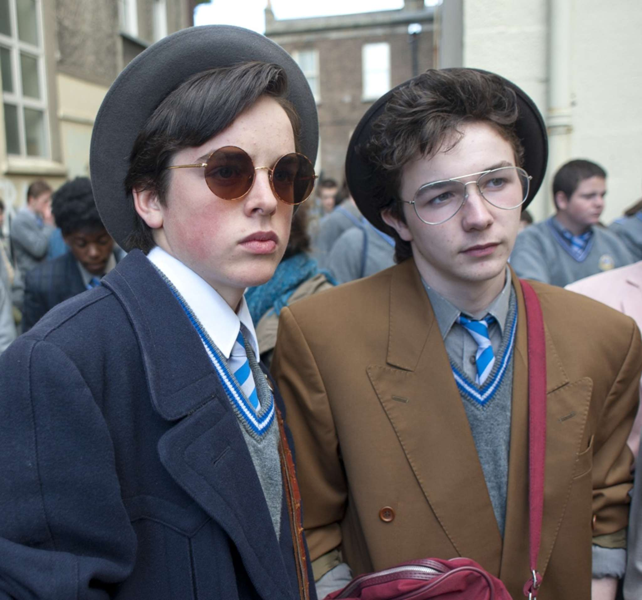 """Don´t you want me?: Ferdia Walsh-Peelo (left) and Mark McKenna in """"Sing Street."""""""