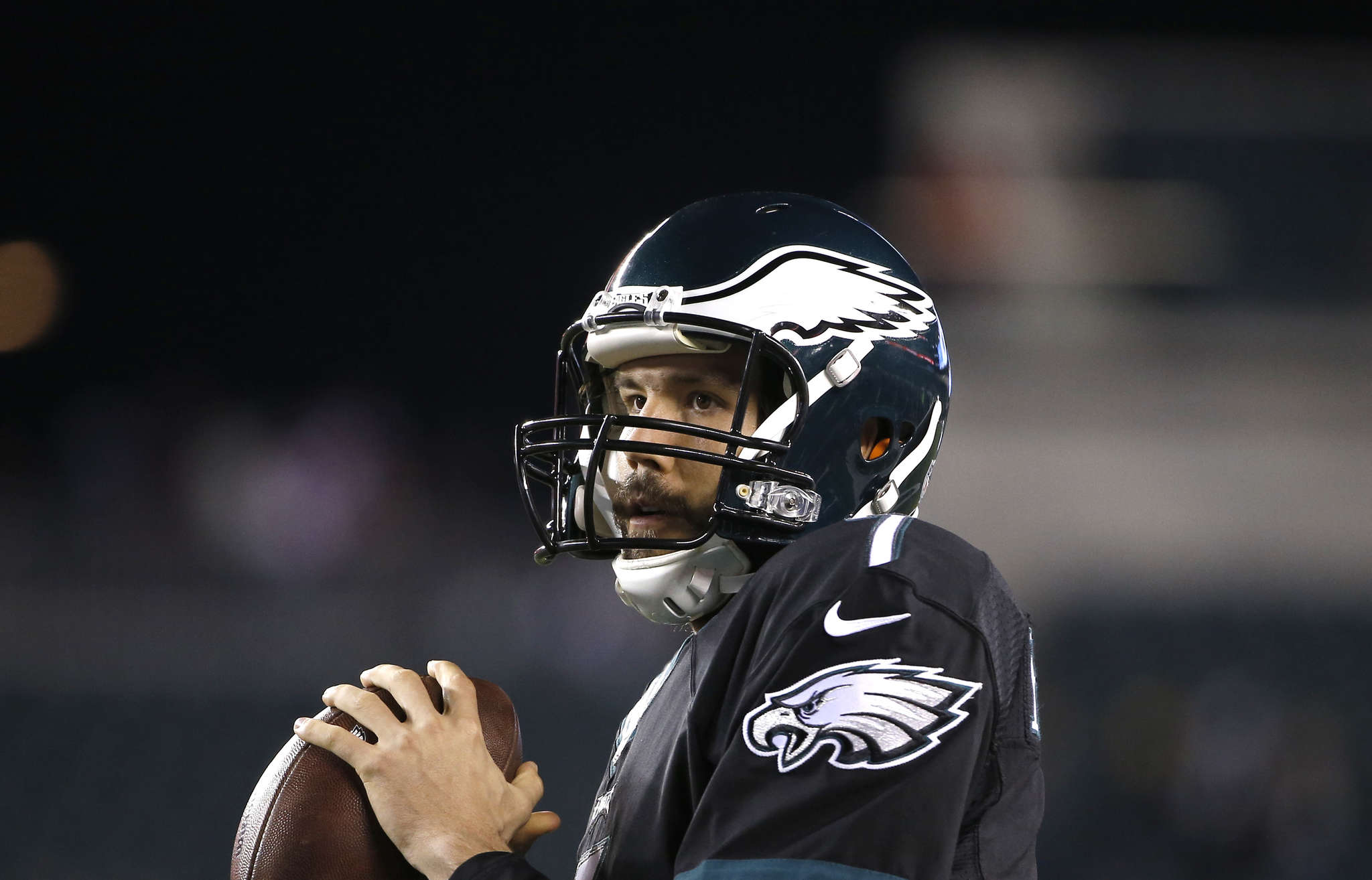 Sam Bradford knew all along that the Eagles were going to draft a quarterback. Associated Press