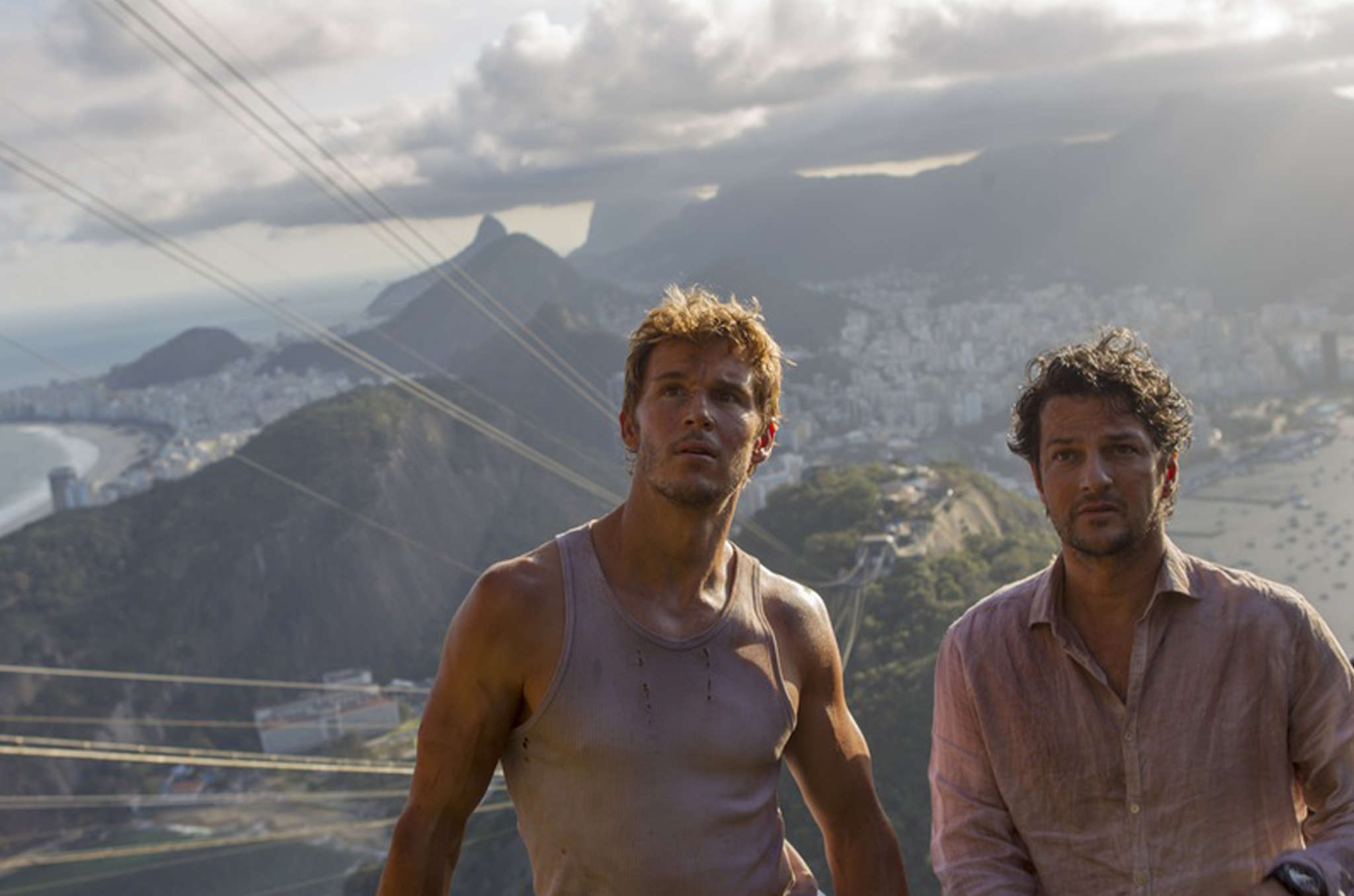 Ryan Kwanten (left) and Marcelo Serrado