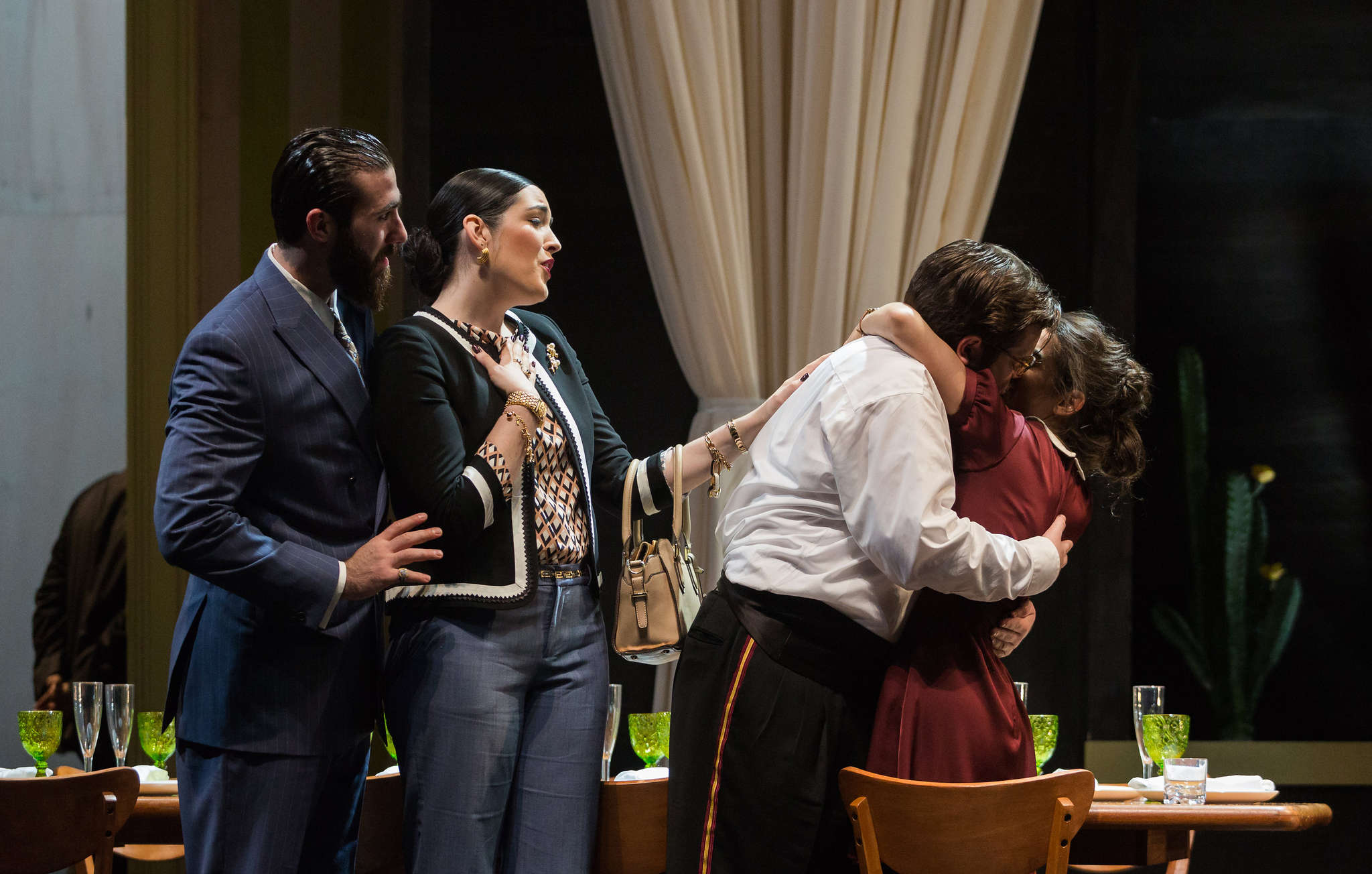"""The Curtis Opera Theatre production of """"Le nozze di Figaro"""" opened Wednesday at the Kimmel."""