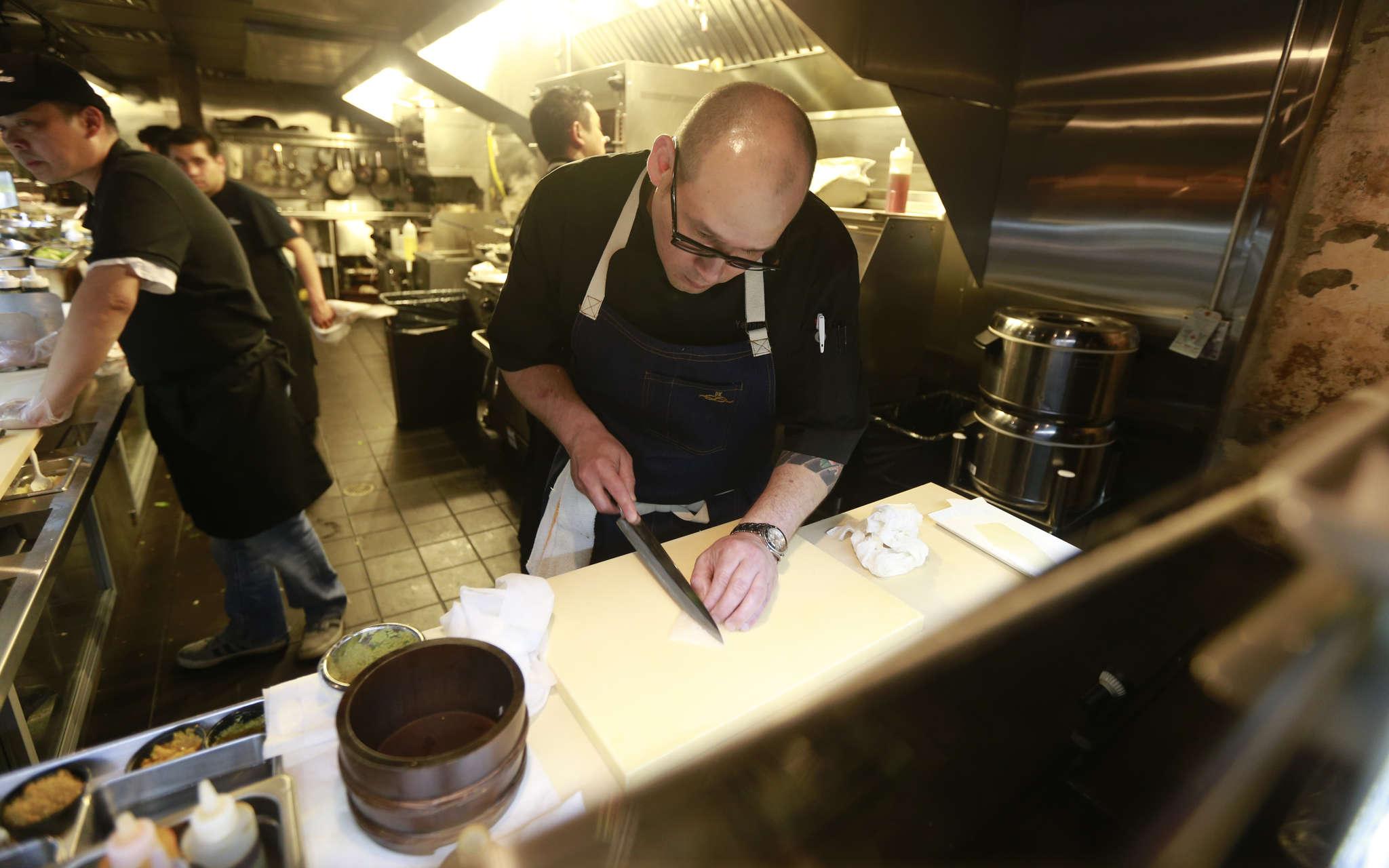 Chef Kevin Yanaga worked for three years at Michael Schulson´s Izakaya in Atlantic City.