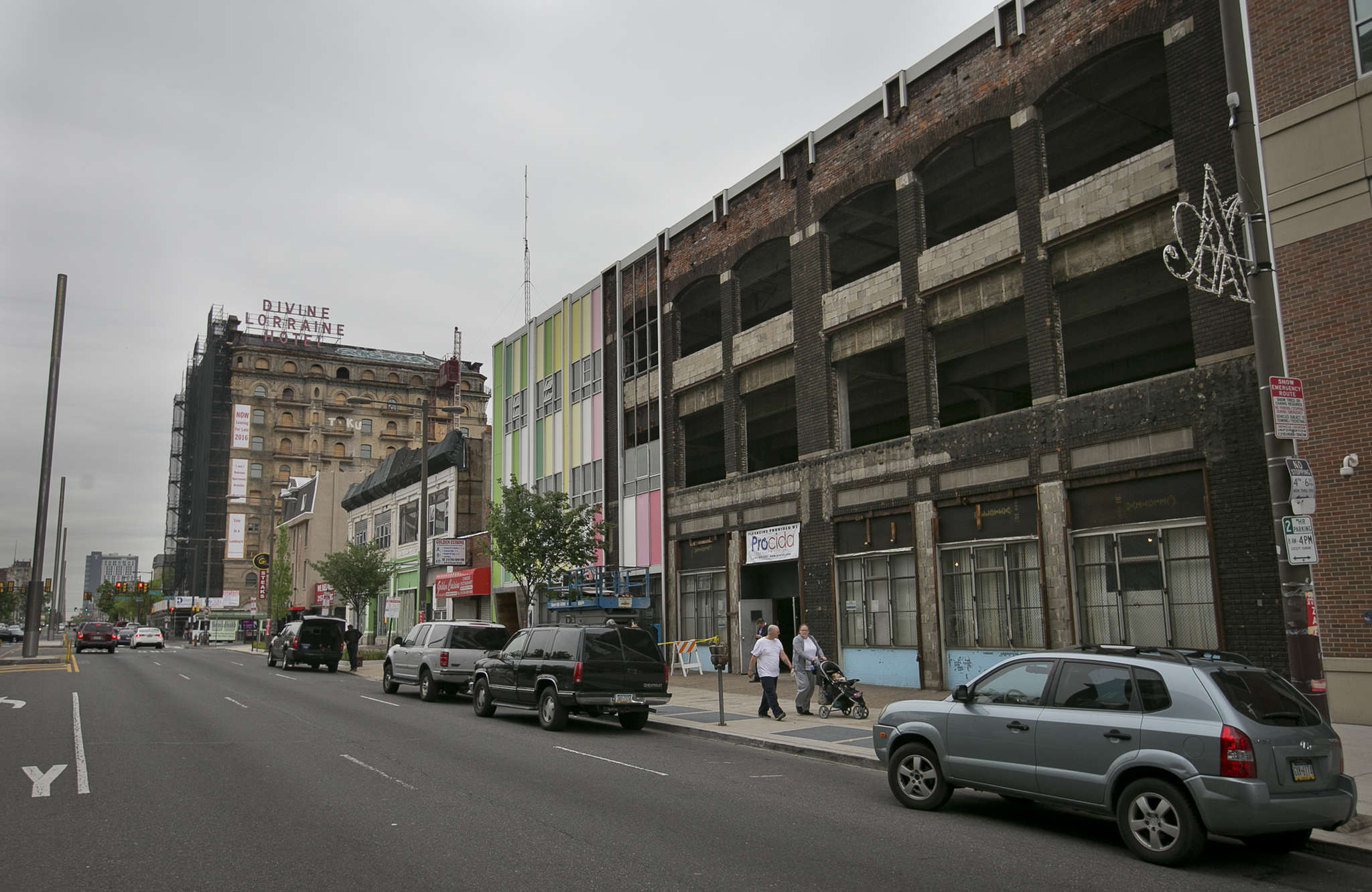 The Studebaker building , 667 N. Broad, will house coworking space offered by Benjamin´s Desk.