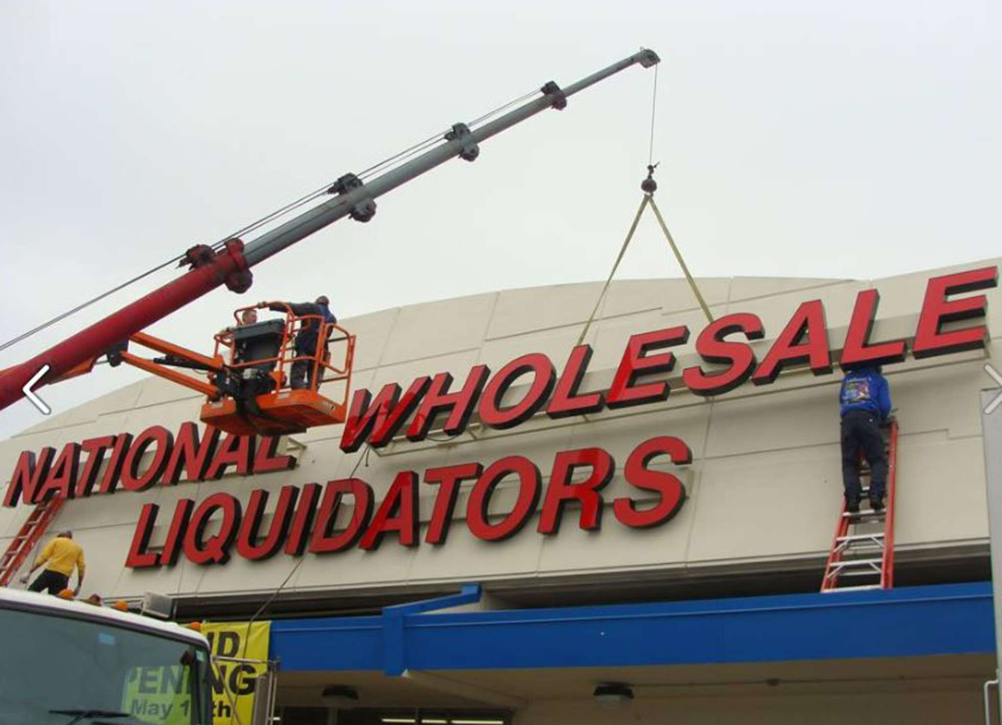 "National Wholesale Liquidators, back in business after its own bankruptcy, will open a store at 900 Orthodox St. on Tuesday. ""We are a value retailer that also offers a treasure-hunt experience,"" boss Scott Rosen says."