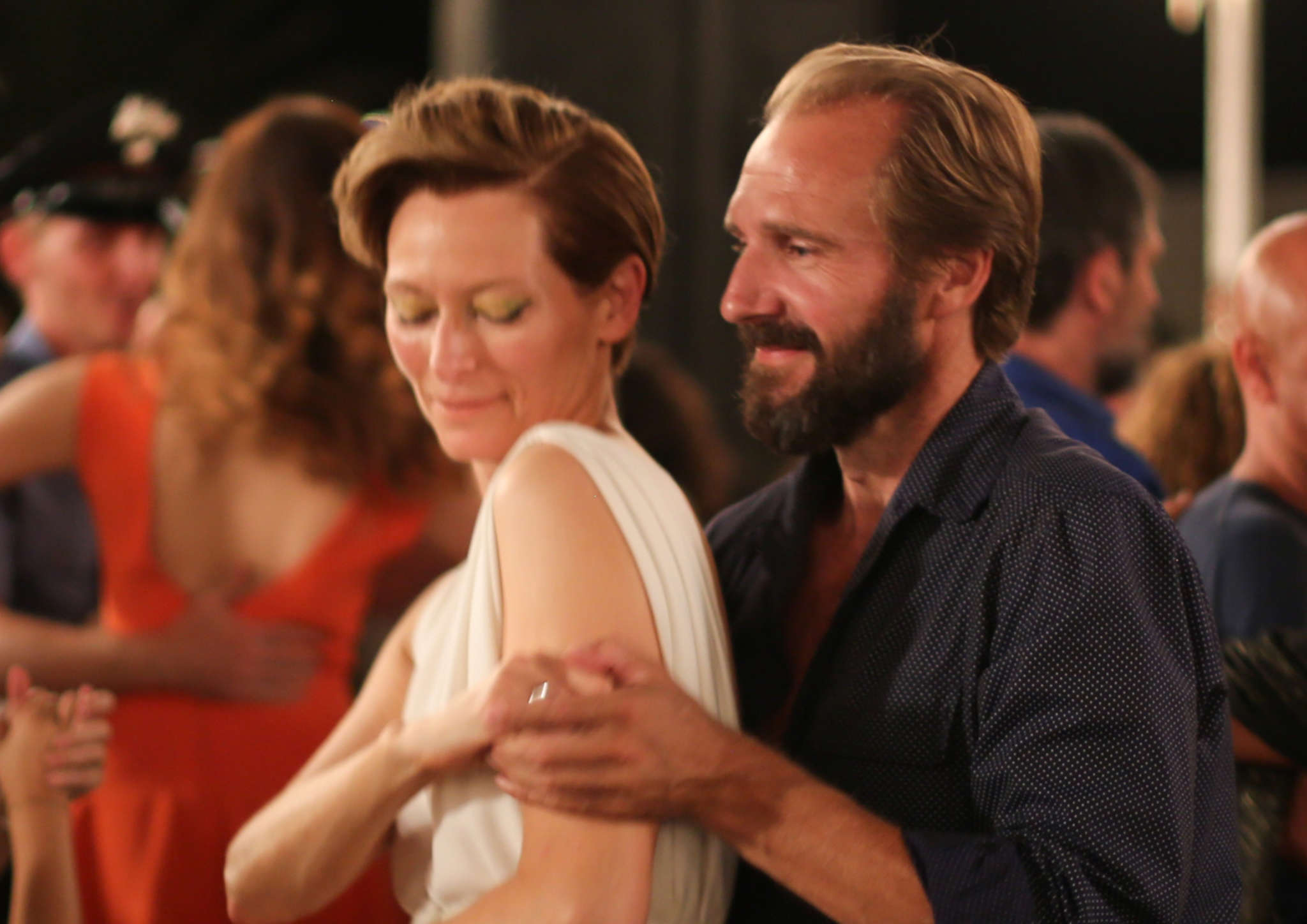"""A Bigger Splash"" stars Tilda Swinton and Ralph Fiennes."