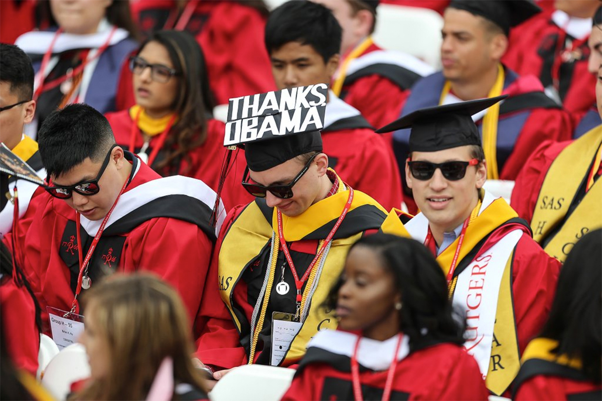 WATCH LIVE: President Obama\'s Rutgers commencement speech - Philly