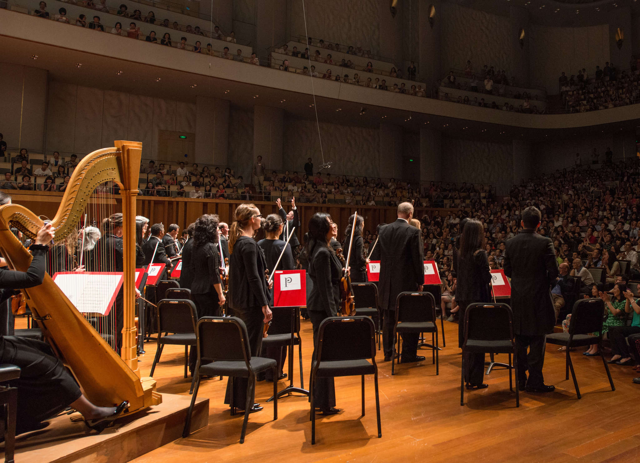 The Philadelphia Orchestra in Beijing on a previous tour of Asia. The orchestra´s 2016 tour includes stops in Hong Kong, Macau, Shanghai, Beijing, and finishes with five concert dates in Japan.