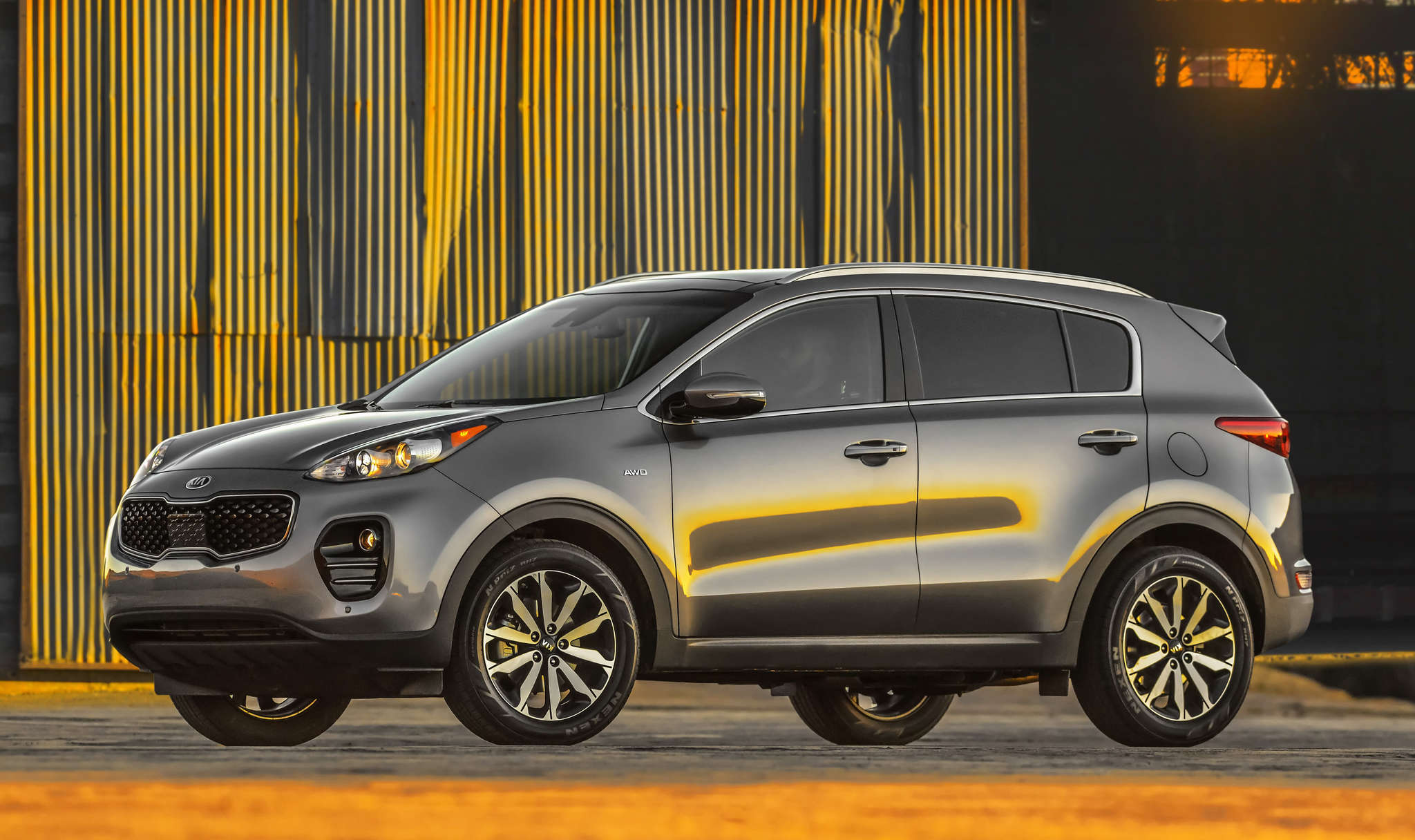 The 2017 Kia Sportage has a new look and several upgrades, including a stiffer structure.