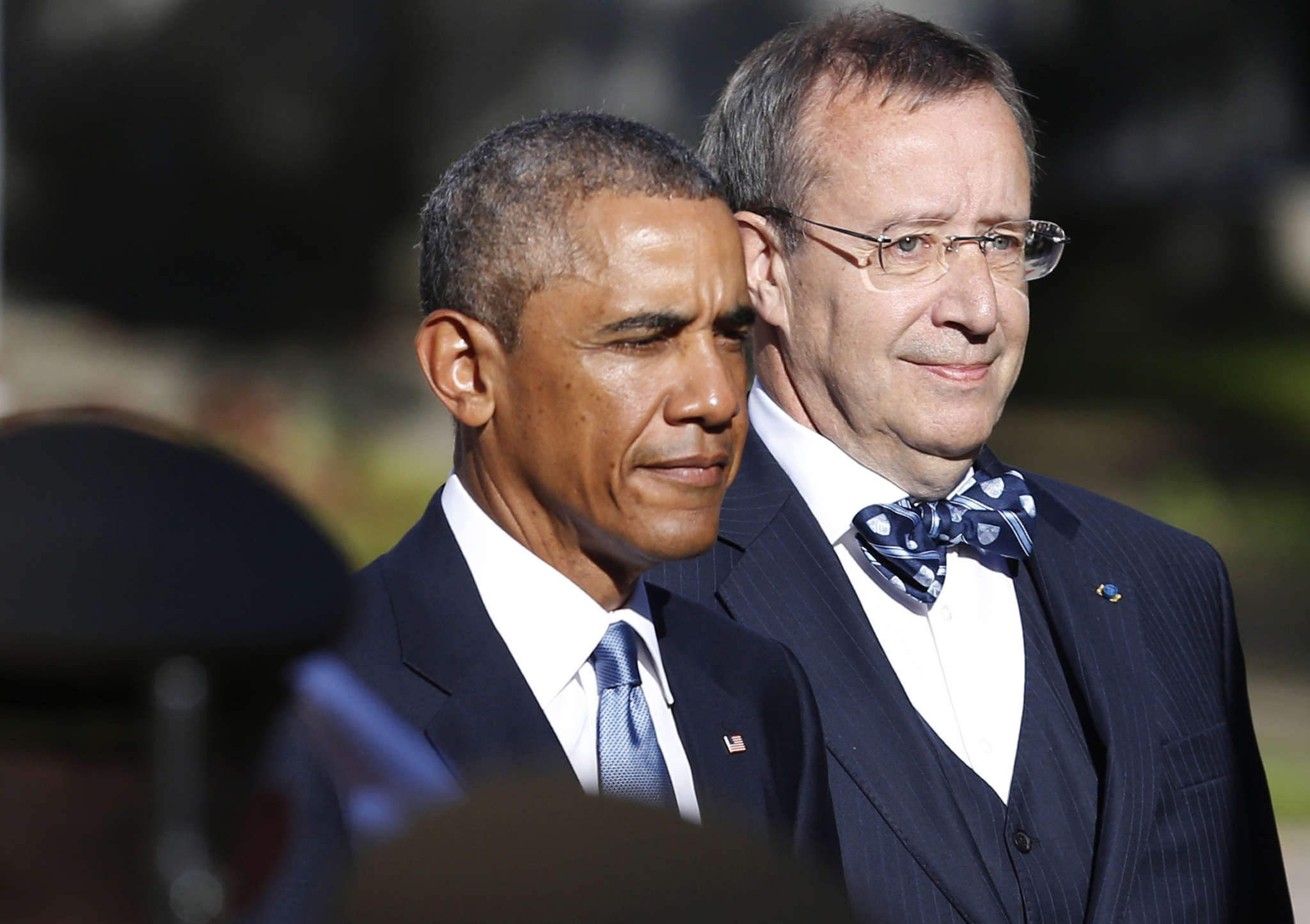 "Estonian President Toomas Hendrik Ilves warns: ""Russia is back with 19th-century goals and 21st-century means."""