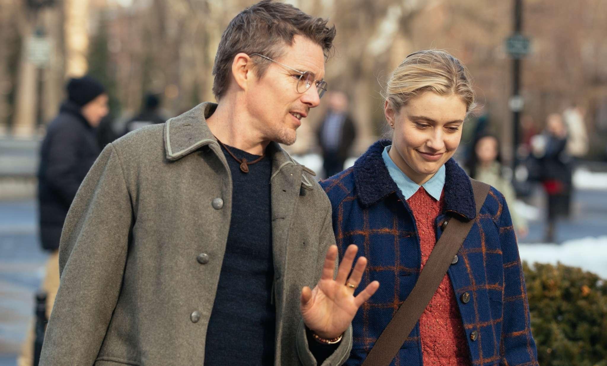 """Maggie´s Plan"" stars Ethan Hawke and Greta Gerwig."