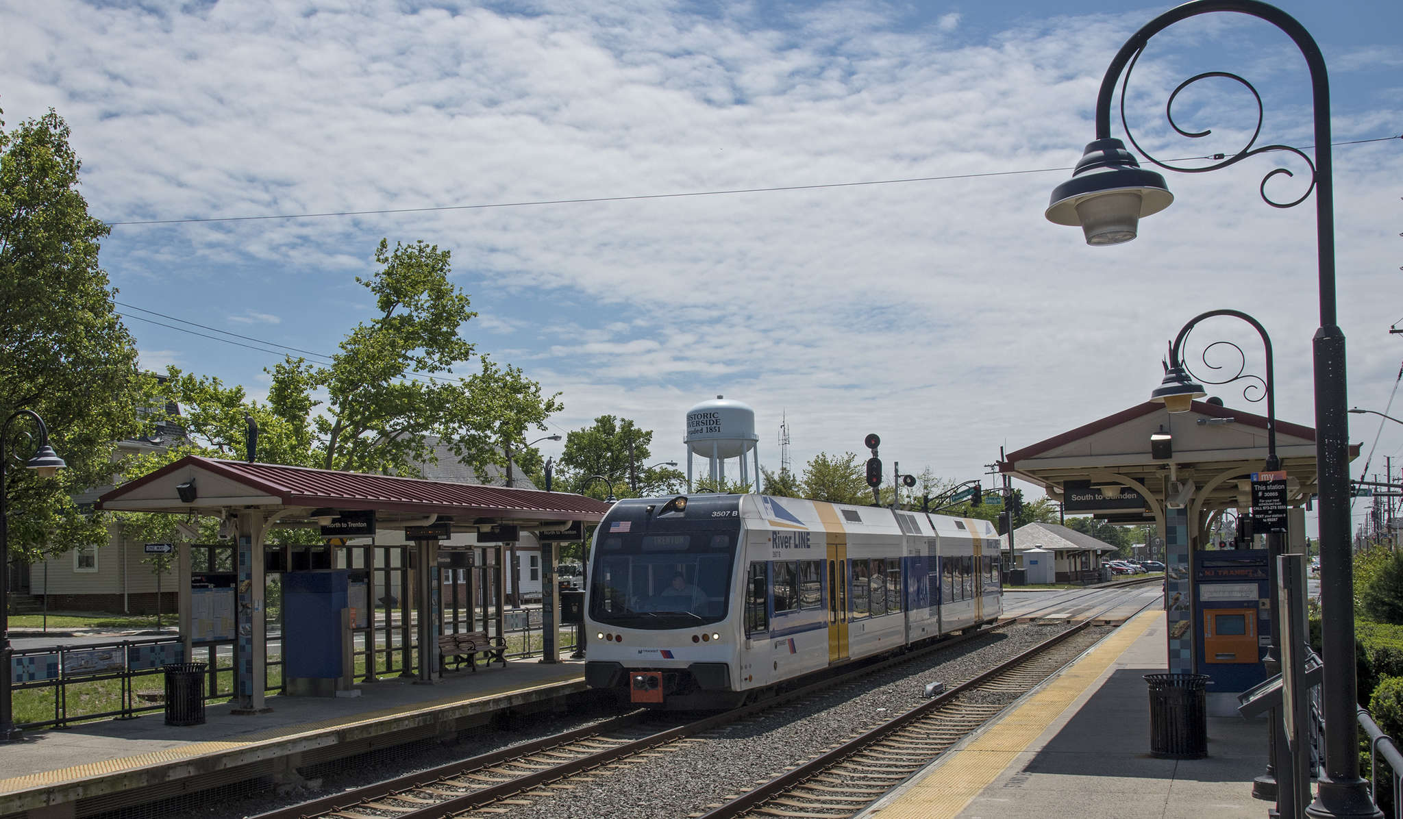 Riders of the RiverLine should help provide a customer base for new businesses.