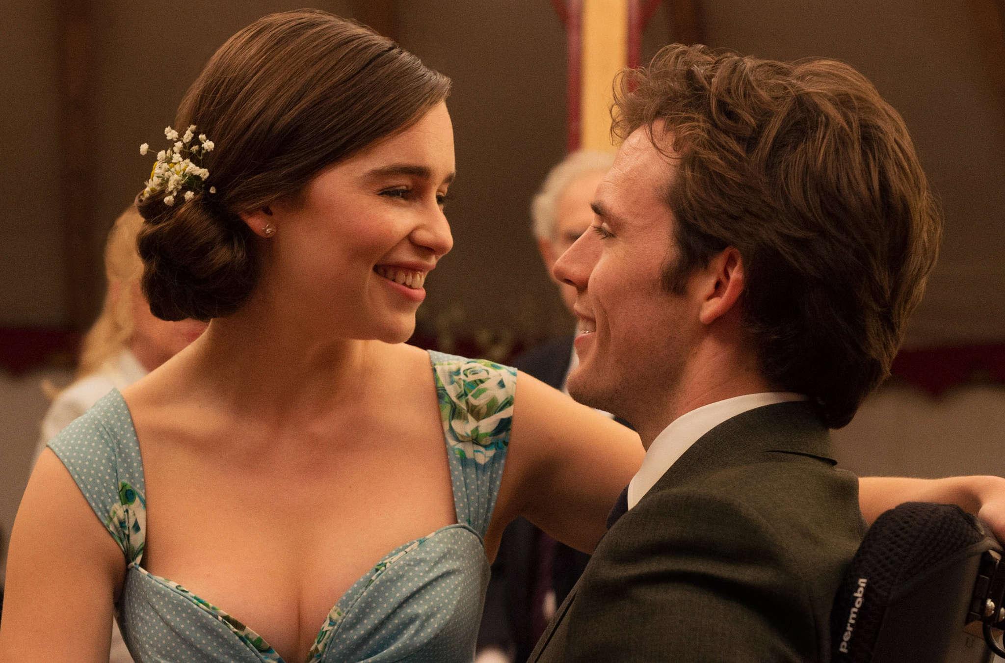 "Emilia Clarke plays caretaker to Sam Claflin´s quadriplegic in ""Me Before You,"" which milks the pathos - and the comedy, too."