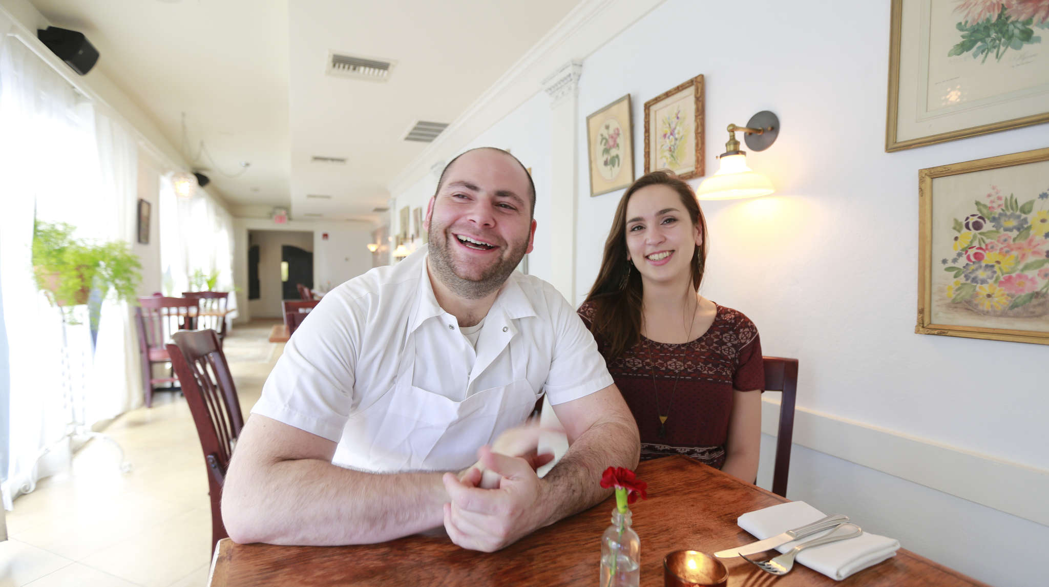 Southwark chef Chris D´Ambro and his partner-fiancee, Marina De Oliveira, plan to undertake another venture this summer.