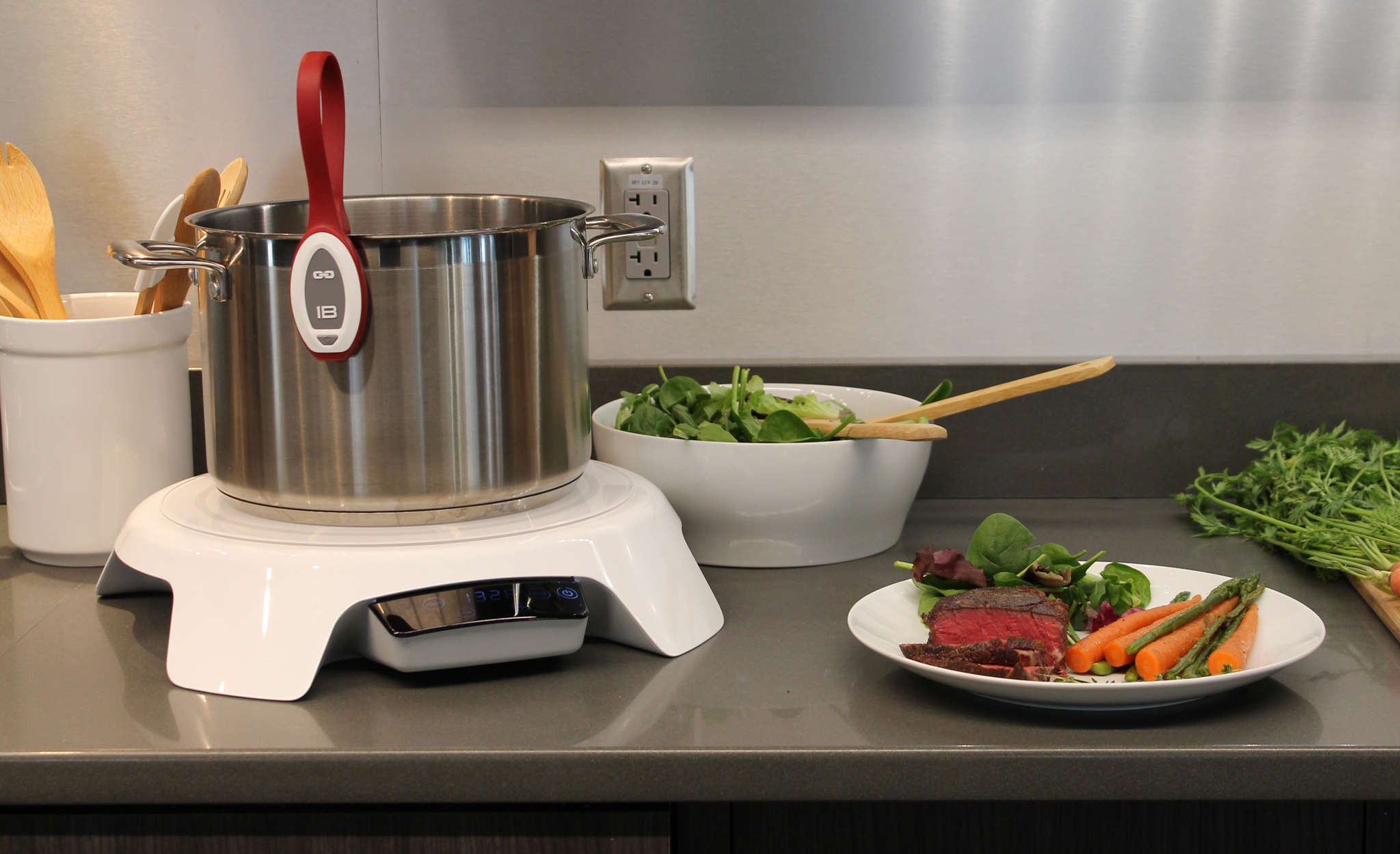 The Paragon Precision Induction Cooktop is ripe for sous vide and chefs cooking in the 21st century.