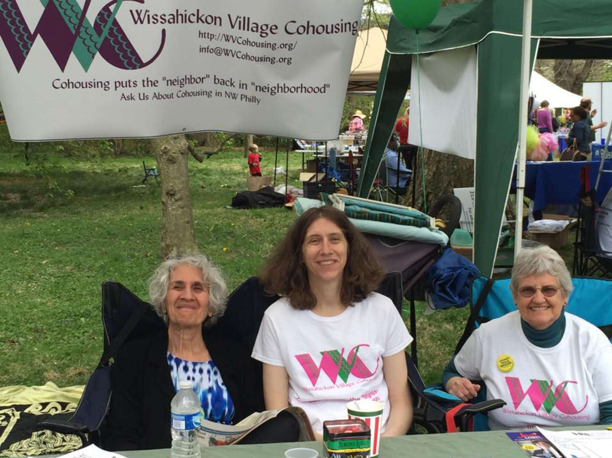 Susan Sussman , from left, Neysa Nevins, and Gloria Hoffman are members of Wissahickon Village Cohousing, a group seeking a senior-friendly home.