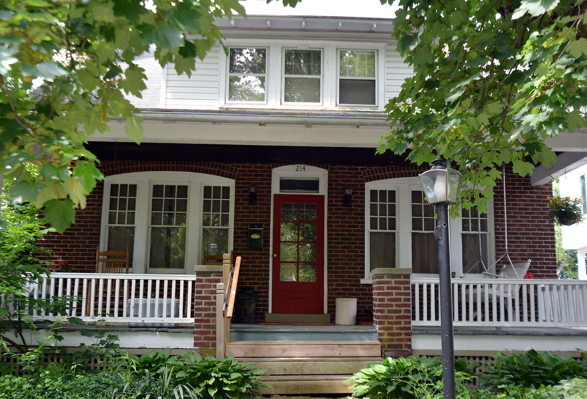 214 Franklin Ave. is for sale for $229,000. Townhouses, too, are coming to Souderton.
