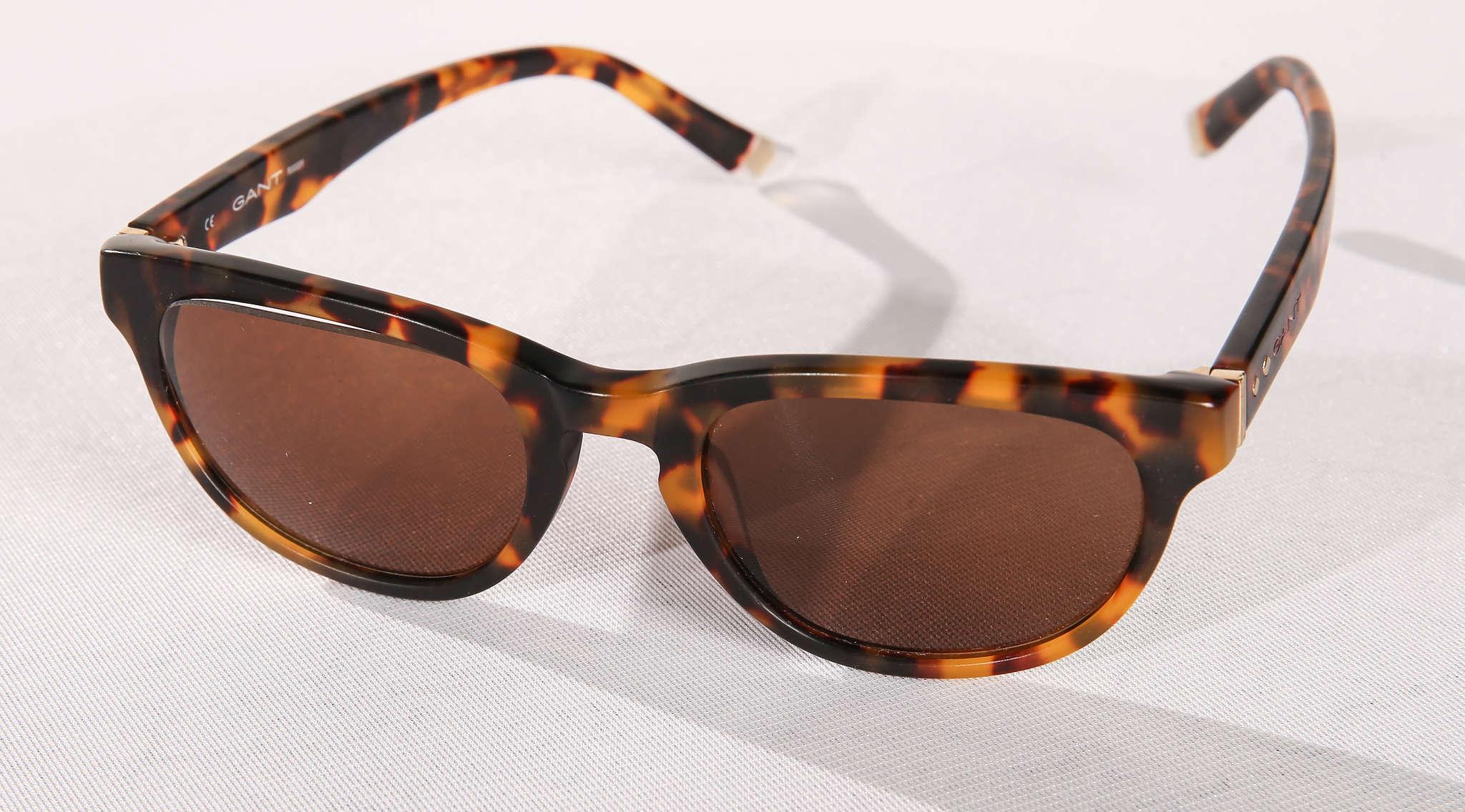 Kate Spade New York tortoiseshell sunglasses, $250.