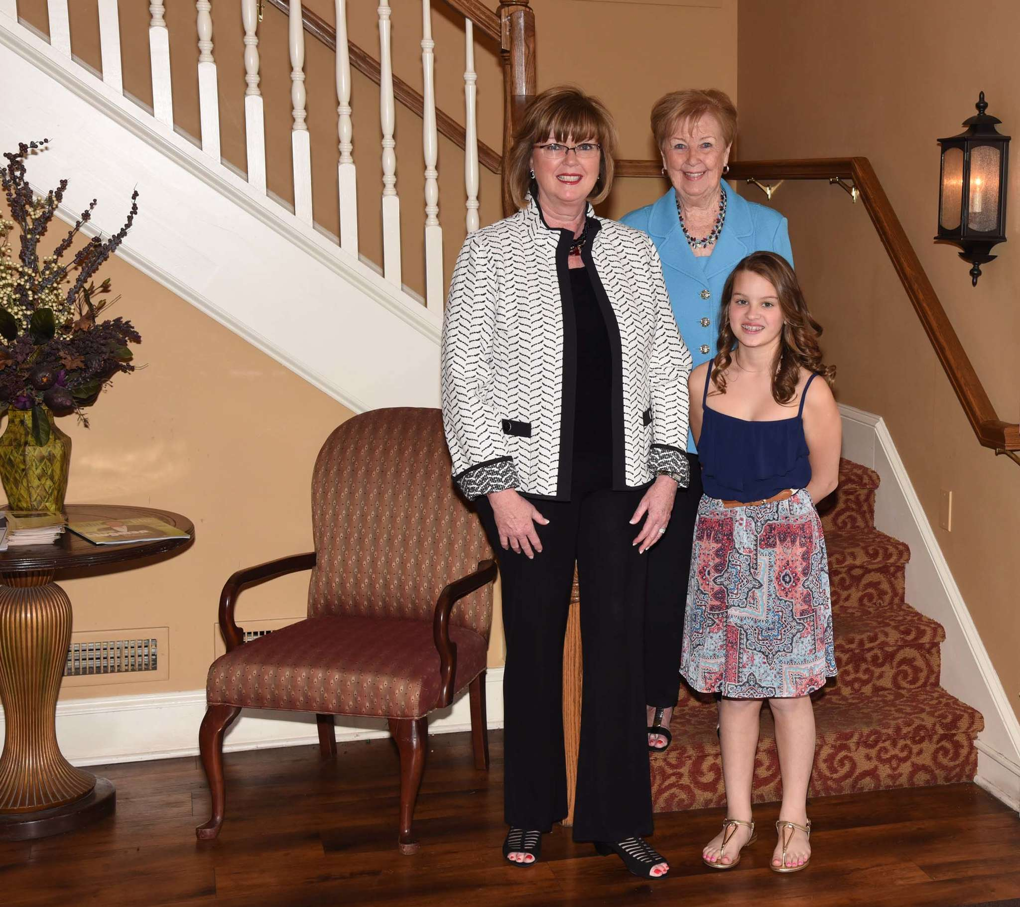 Eileen McDonnell is part of a growing trend of multigenerational households. She lives with her mother, Barbara, and daughter, Claire, with other family nearby.
