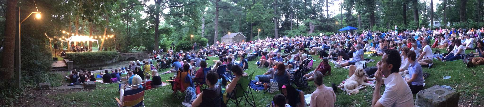 Philadelphia Orchestra´s 2016 summer concert series kicked off in Chestnut Hill - without the orchestra.