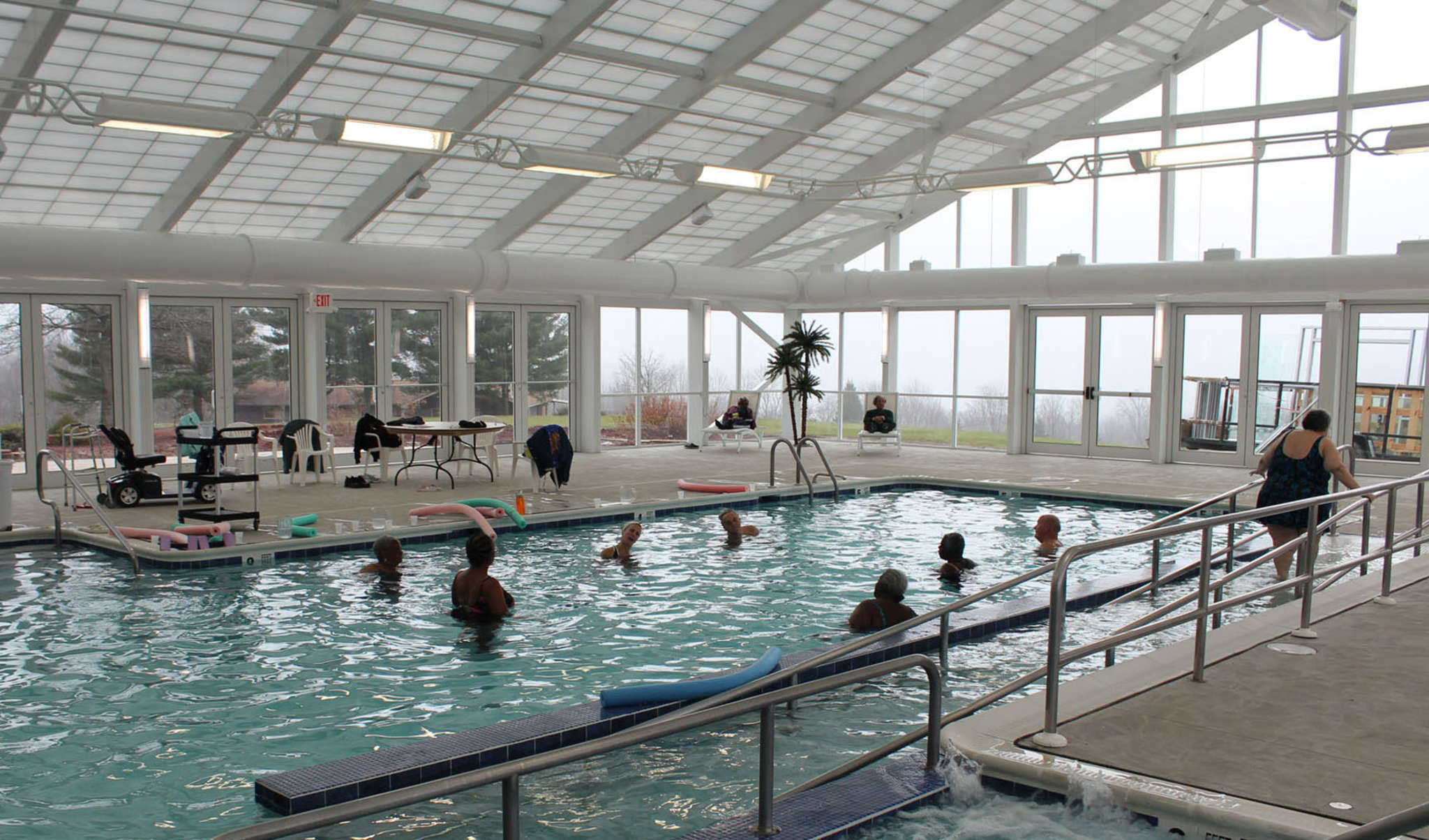Seniors are heading to such sleepaway summer camps as in the Poconos, operated by the Salvation Army, where an indoor pool and handicapped-accessible mini-golf cater to the elderly. Camp Ladore