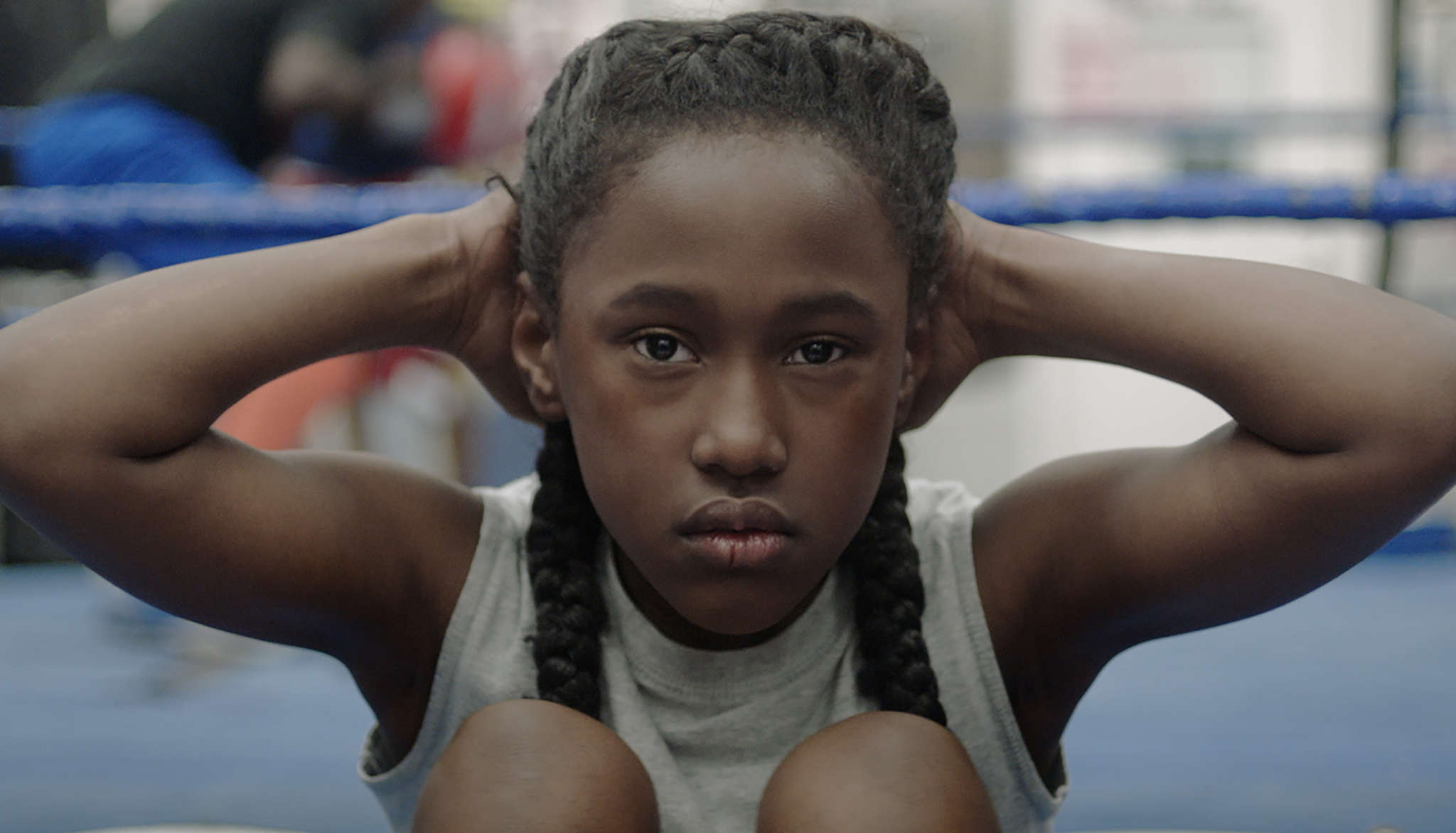"Royalty Hightower as a rec center boxer who joins a dance troupe in ""The Fits."""