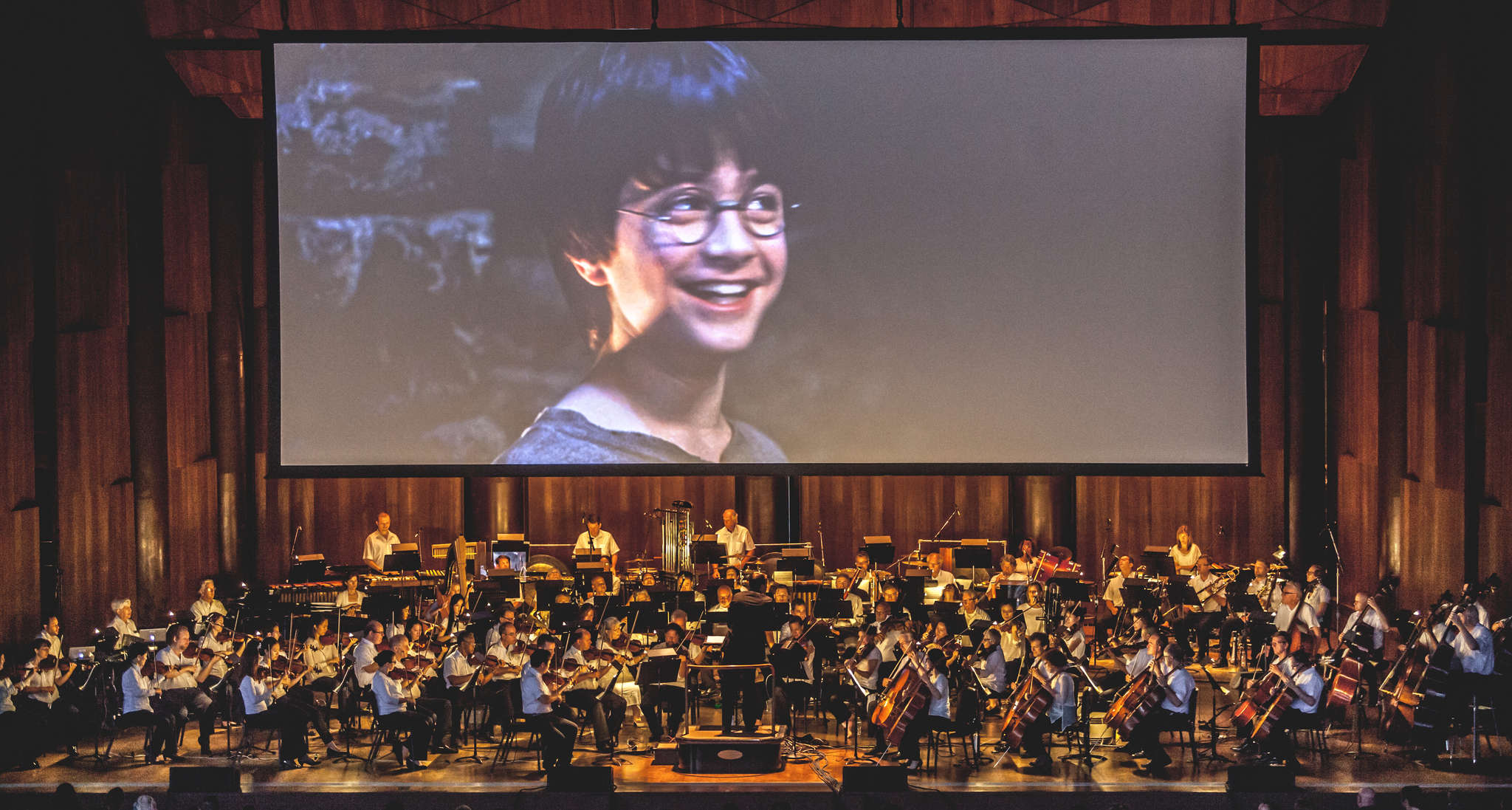 "The Mann almost sold out for the live-orchestra ""Harry Potter"" debut."