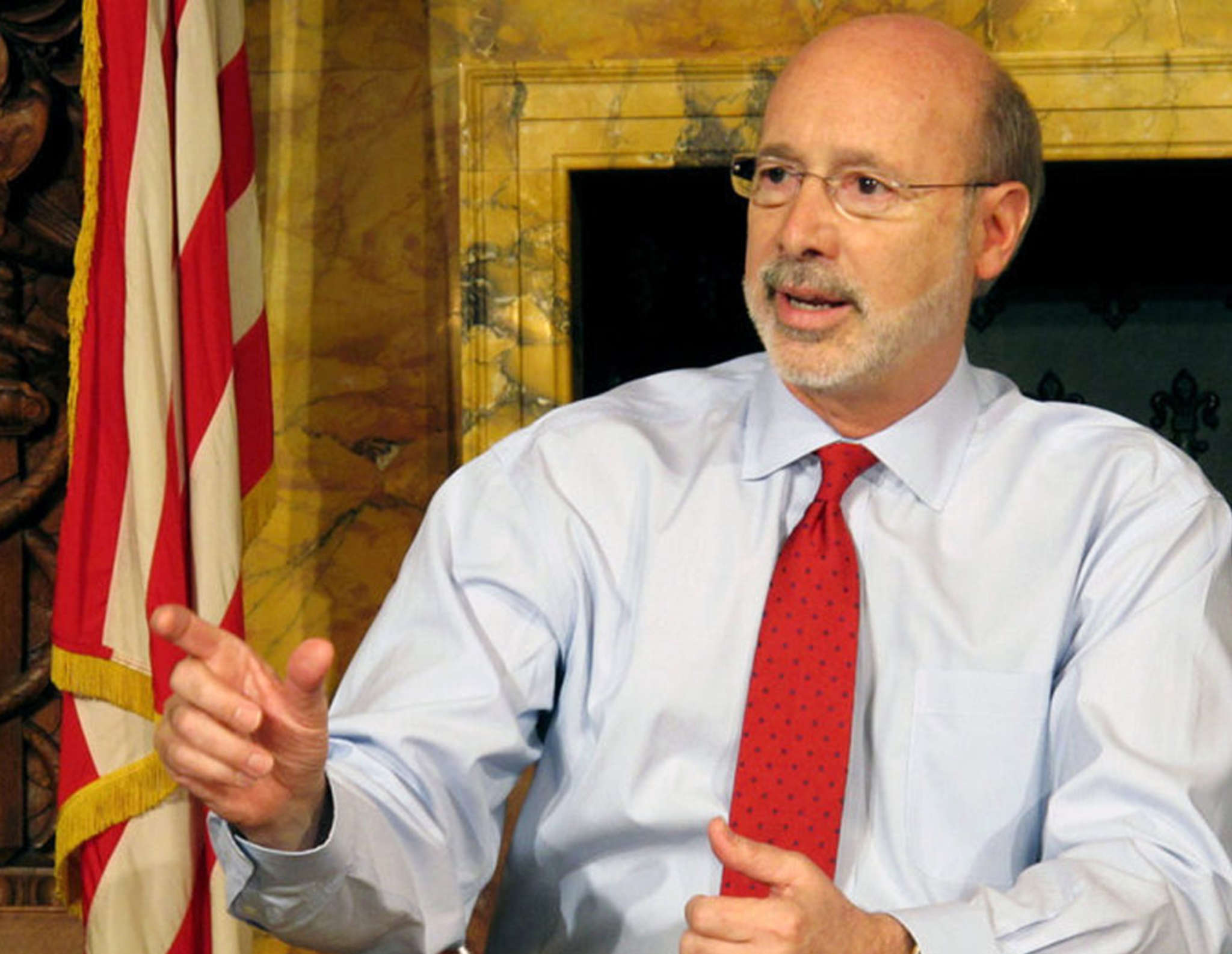 Gov. Wolf backed off his plan to raise taxes, which isn´t surprising during a legislative election year in need of a quiet budget agreement without crisis.
