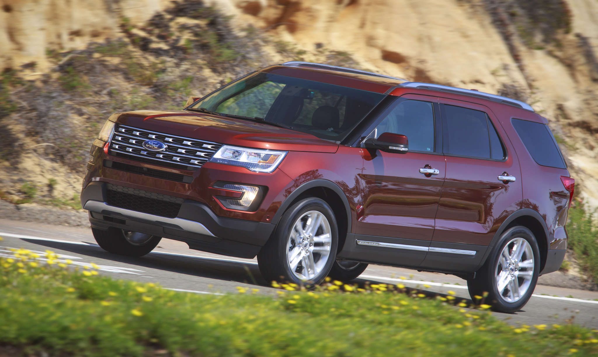The 2016 Ford Explorer feels miles ahead of an earlier tested version, with smooth handling and nice acceleration.