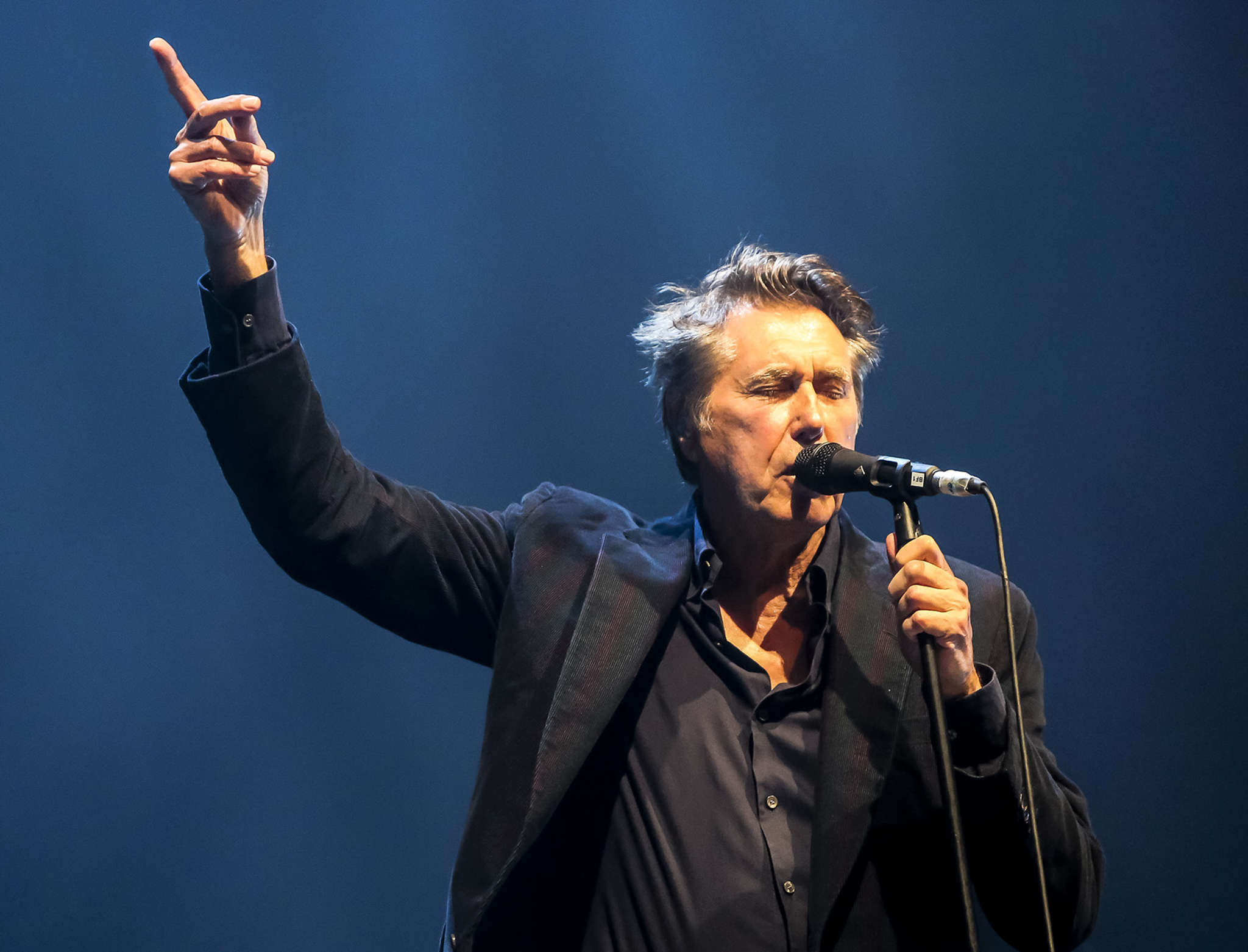 Bryan Ferry last year in England. On July 21, he will kick off a solo American tour at the Kimmel Center.