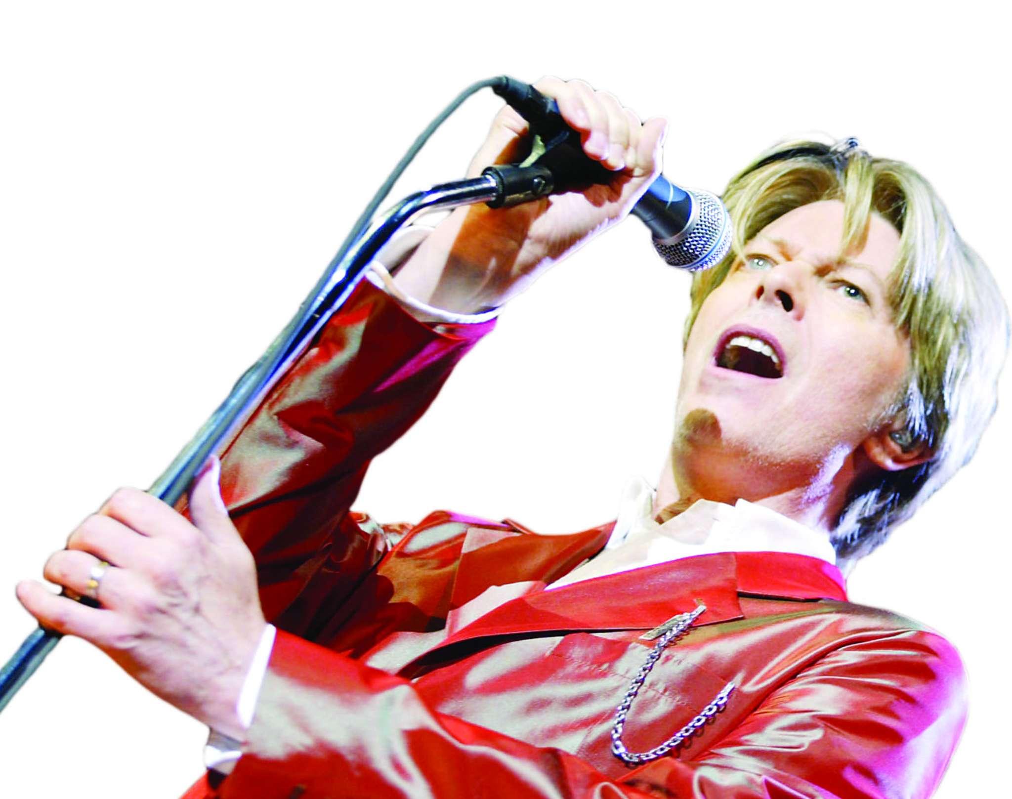 Bowie: Art auction
