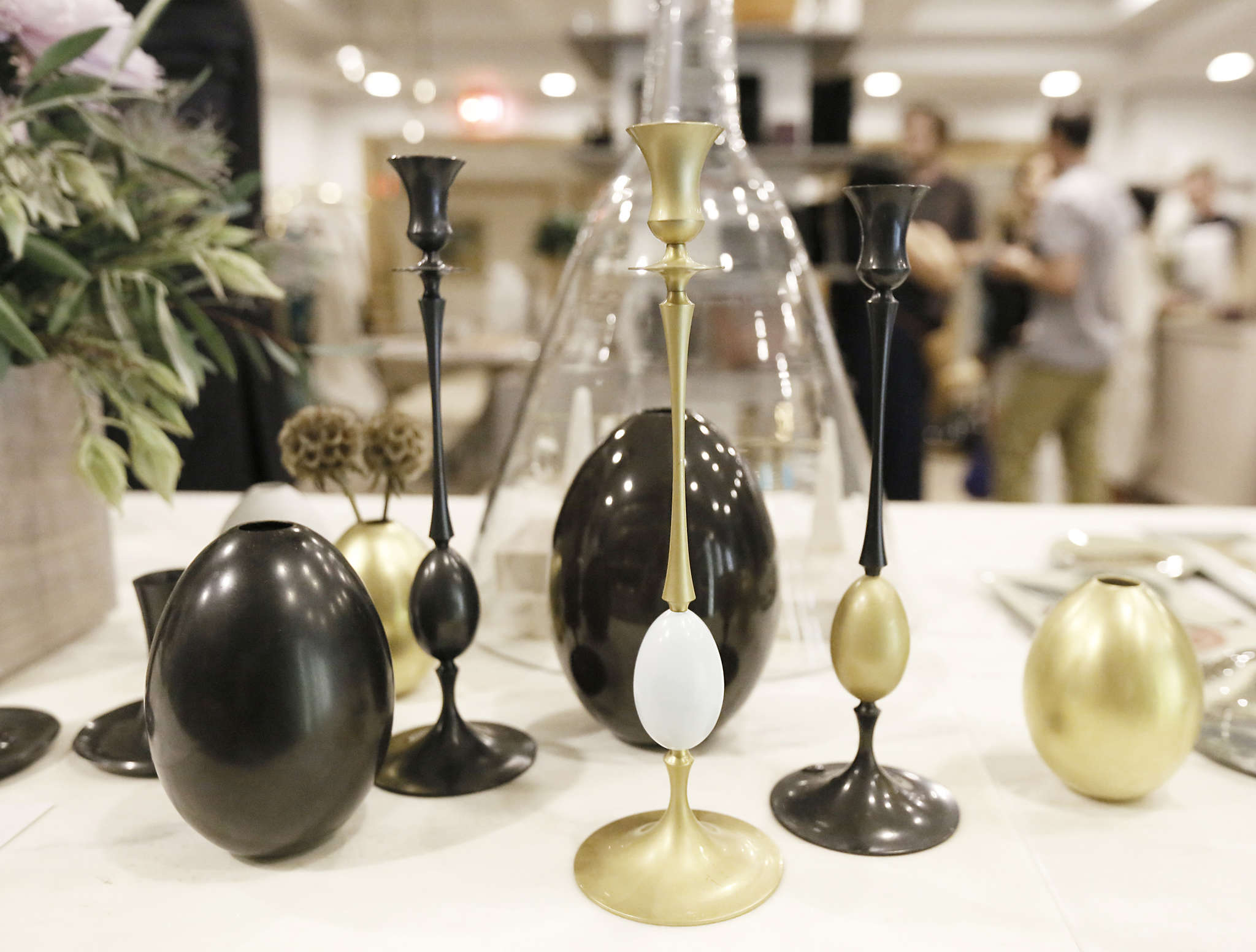 "The offerings in Kate Egan´s new store are lavish, but not precious. She believes people should use the pieces often, if not every day. ""Having a sanctuary you can turn to at the end of a hard day is important,"" Egan says."