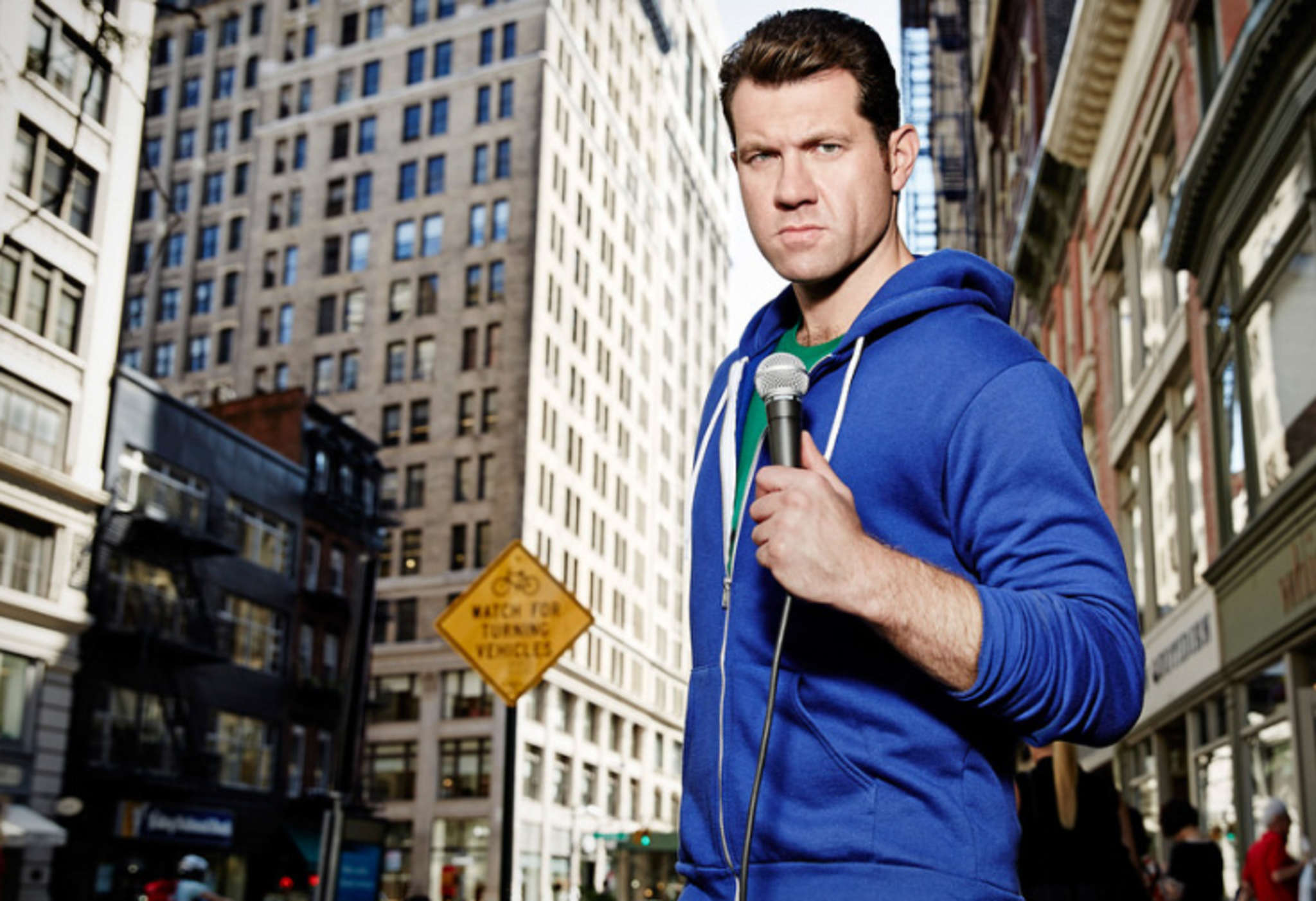 "Billy Eichner in ""Billy on the Street."""