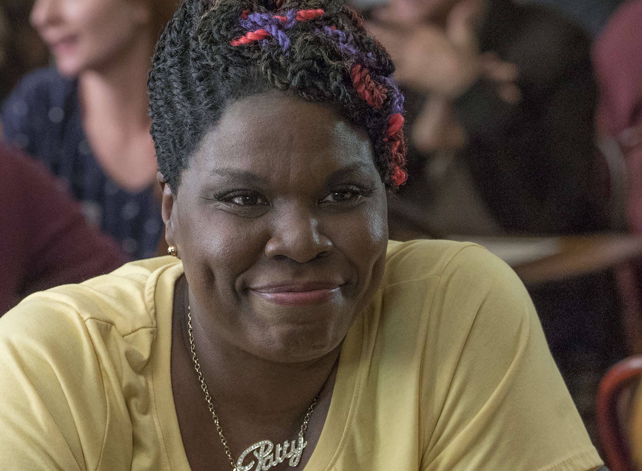 """Leslie Jones : Now on TV and in films, here in """"Ghostbusters."""""""