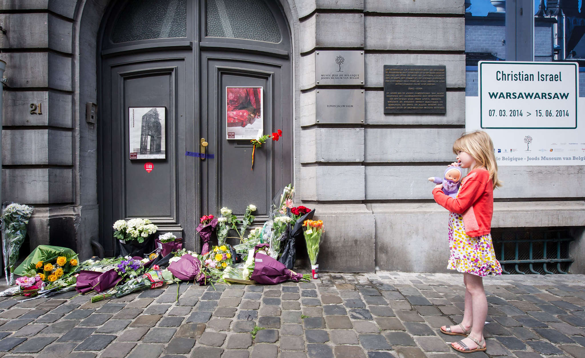 A 2014 attack that killed four at the Brussels Jewish Museum was the impetus for the Rutgers project.